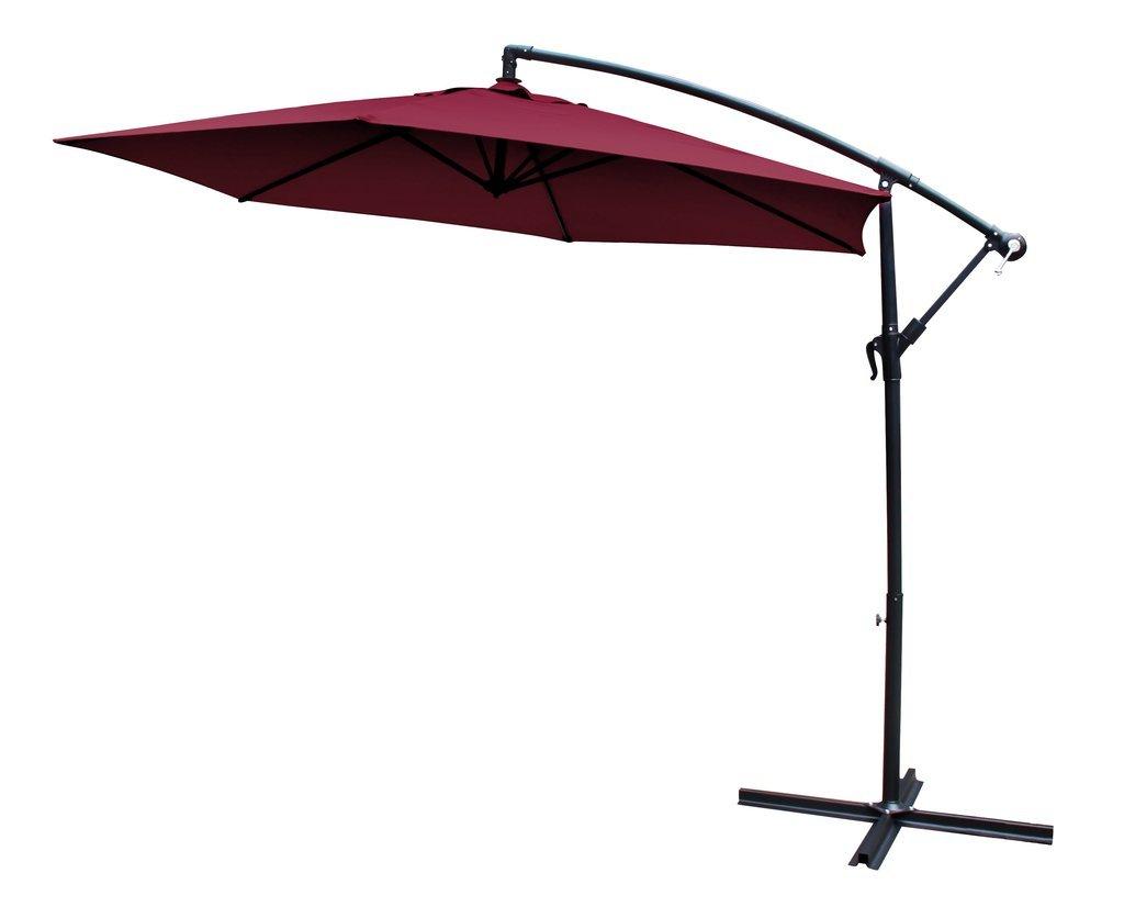 Trendy 10' Cantilever Umbrella In Lytham Cantilever Umbrellas (View 10 of 20)
