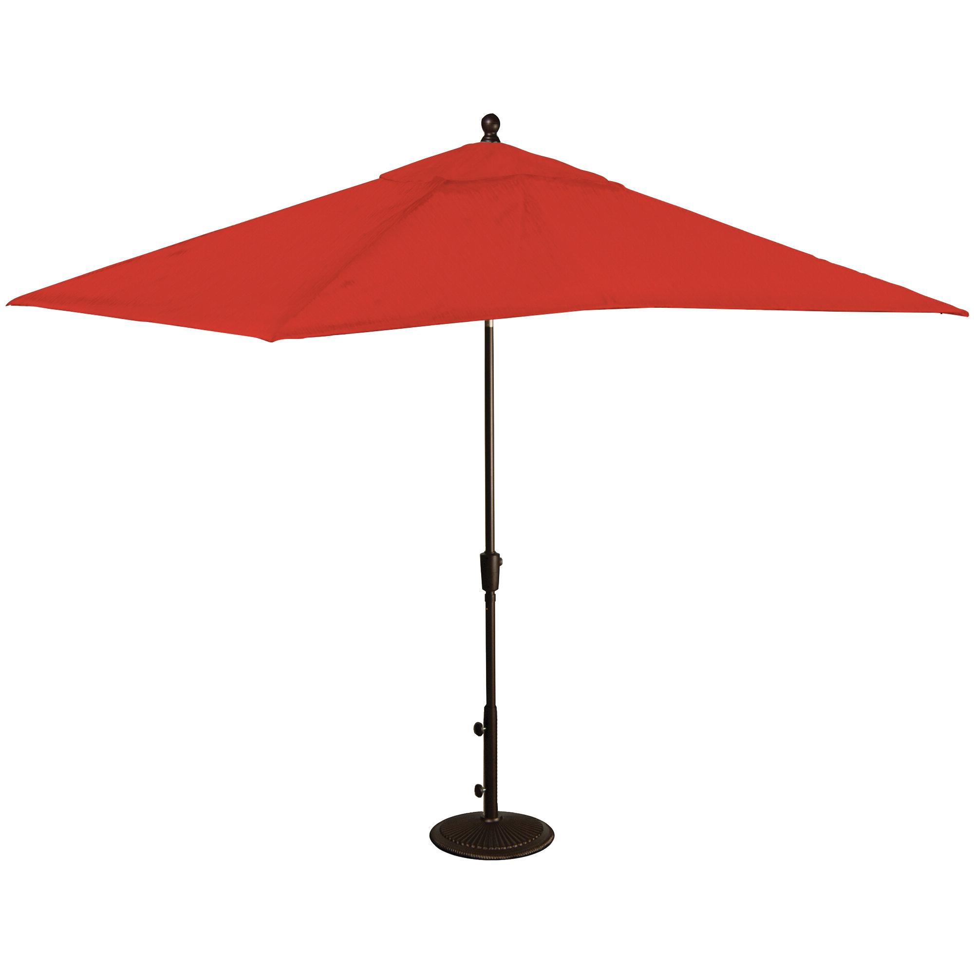 Trendy Hatten Market Umbrellas For Caspian 8' X 10' Rectangular Market Umbrella (View 7 of 20)