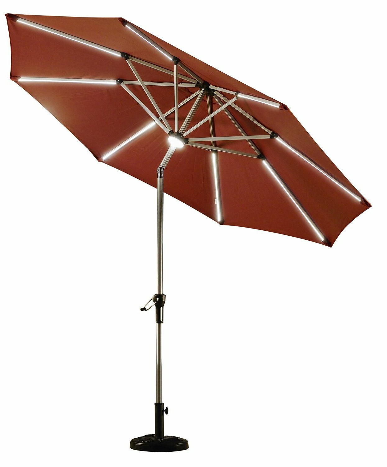Trendy Maghull 9' Market Umbrella Throughout Venice Lighted Umbrellas (View 10 of 20)