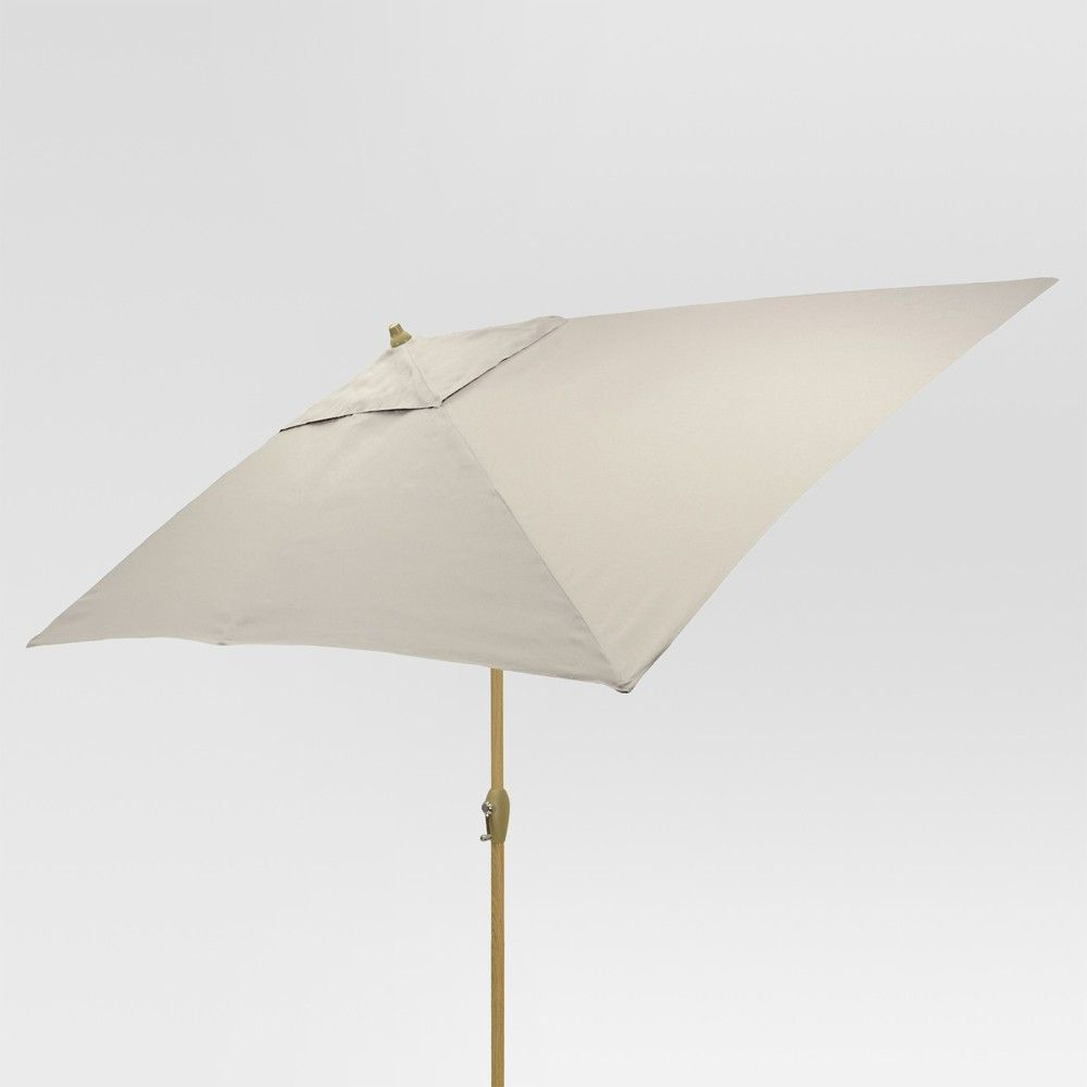 Trendy Solid Rectangular Market Umbrellas For Stay Cool In Style With This Rectangular Patio Umbrella From (View 18 of 20)