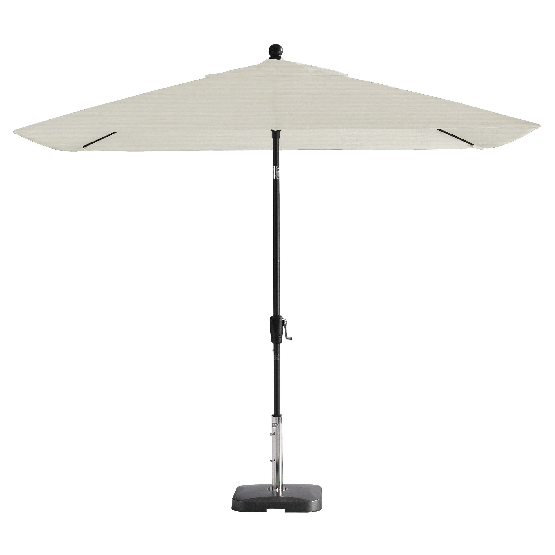 Trendy Wiechmann Push Tilt Market Sunbrella Umbrellas For Wiechmann Push Tilt 9' X 7' Rectangular Market Umbrella (View 2 of 20)