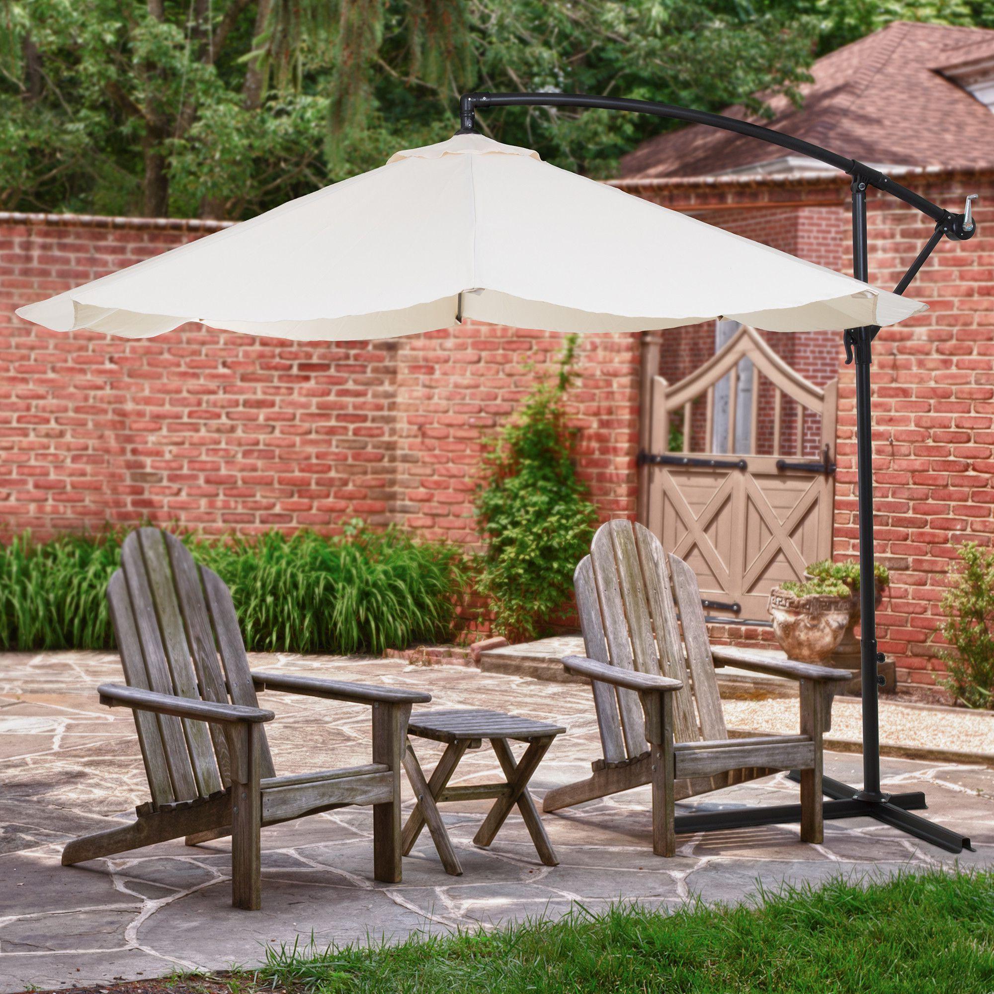 Vassalboro 10' Cantilever Umbrella In (View 20 of 20)