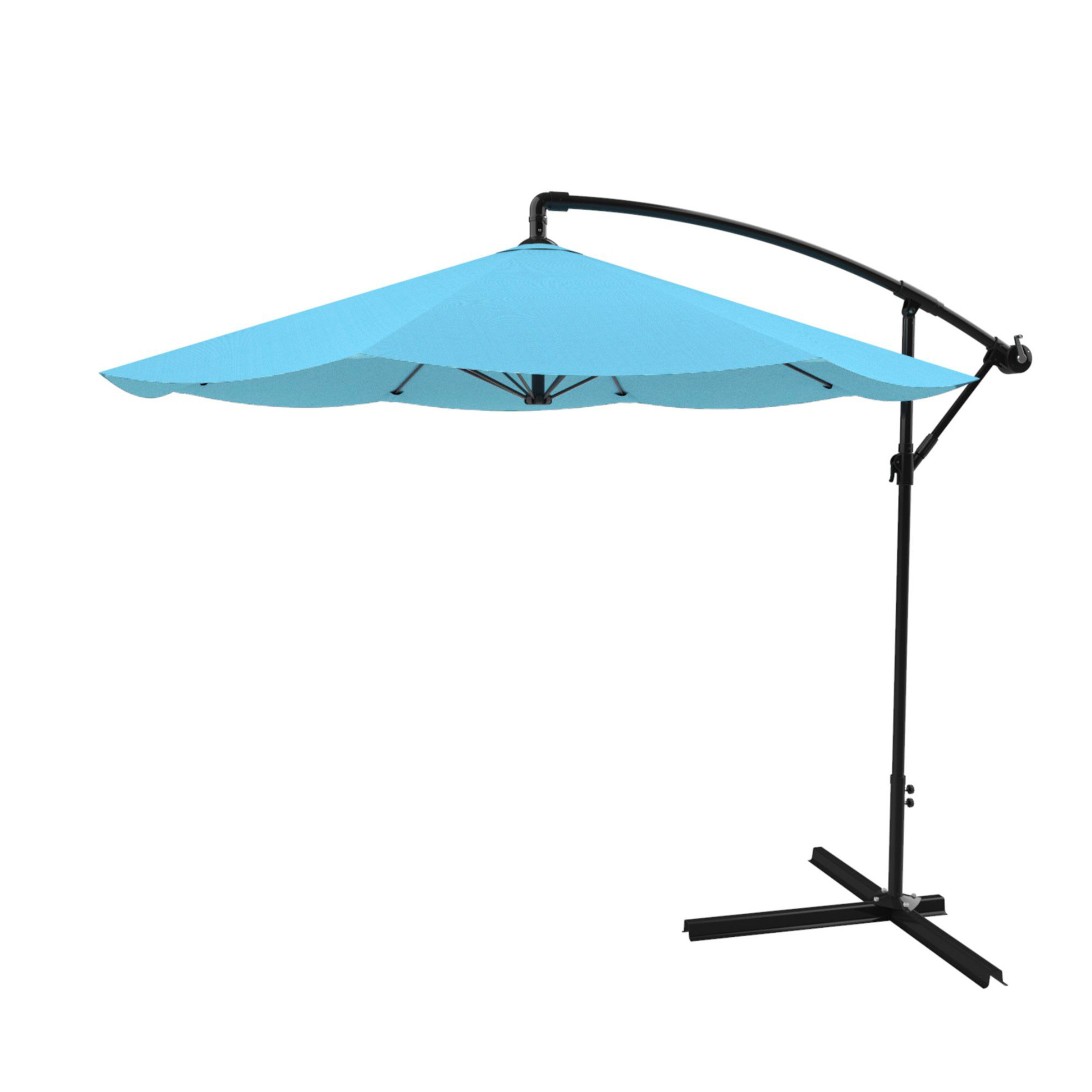 Vassalboro Cantilever Umbrellas Throughout Popular Vassalboro 10' Cantilever Umbrella (View 18 of 20)