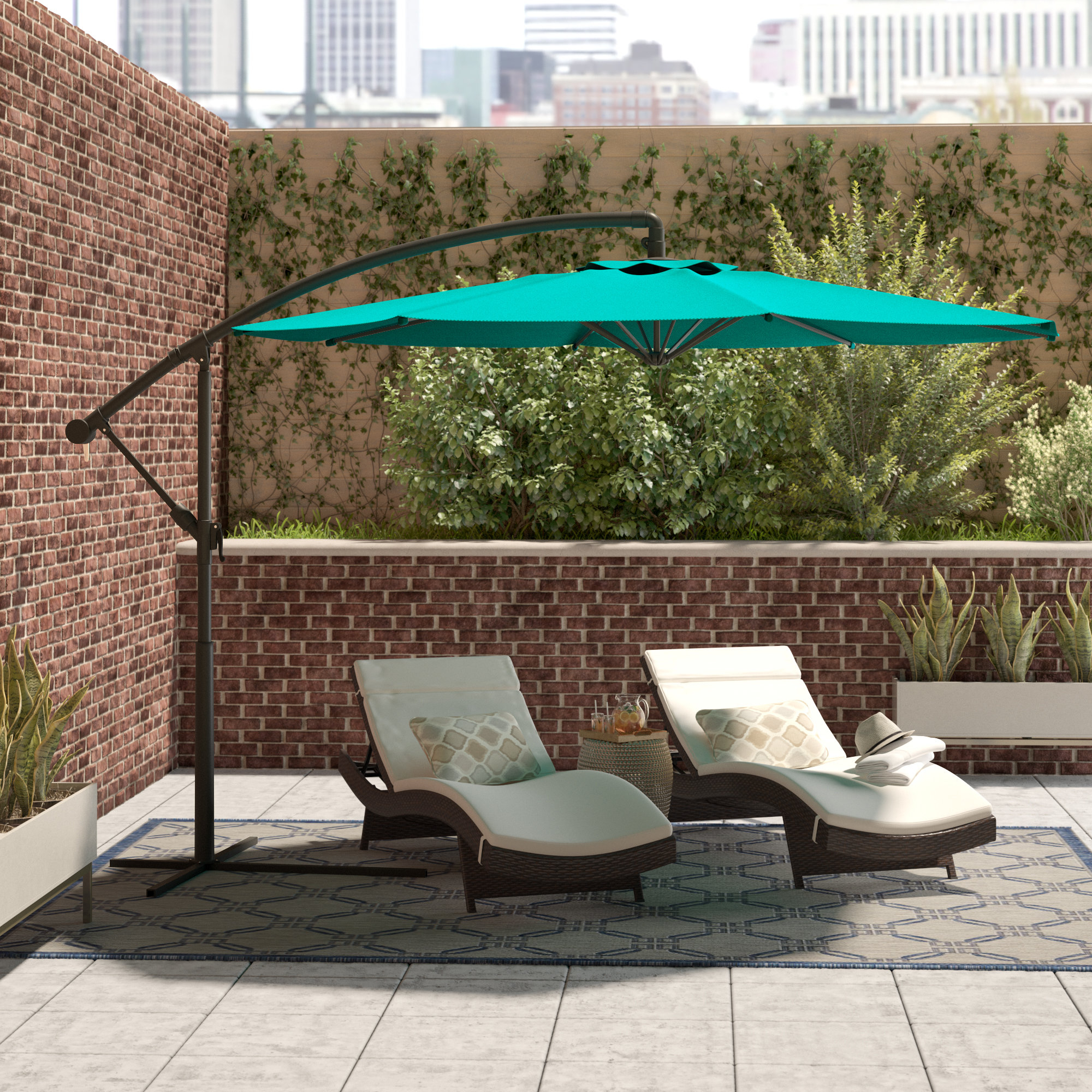 Wayfair For Gribble 3Cantilever Umbrellas (View 19 of 20)