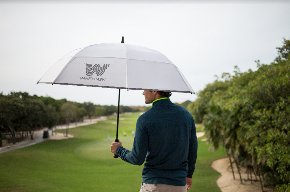 Weatherman Umbrellas Moves Into The Golf Space Pertaining To Popular Annika Market Umbrellas (View 17 of 20)