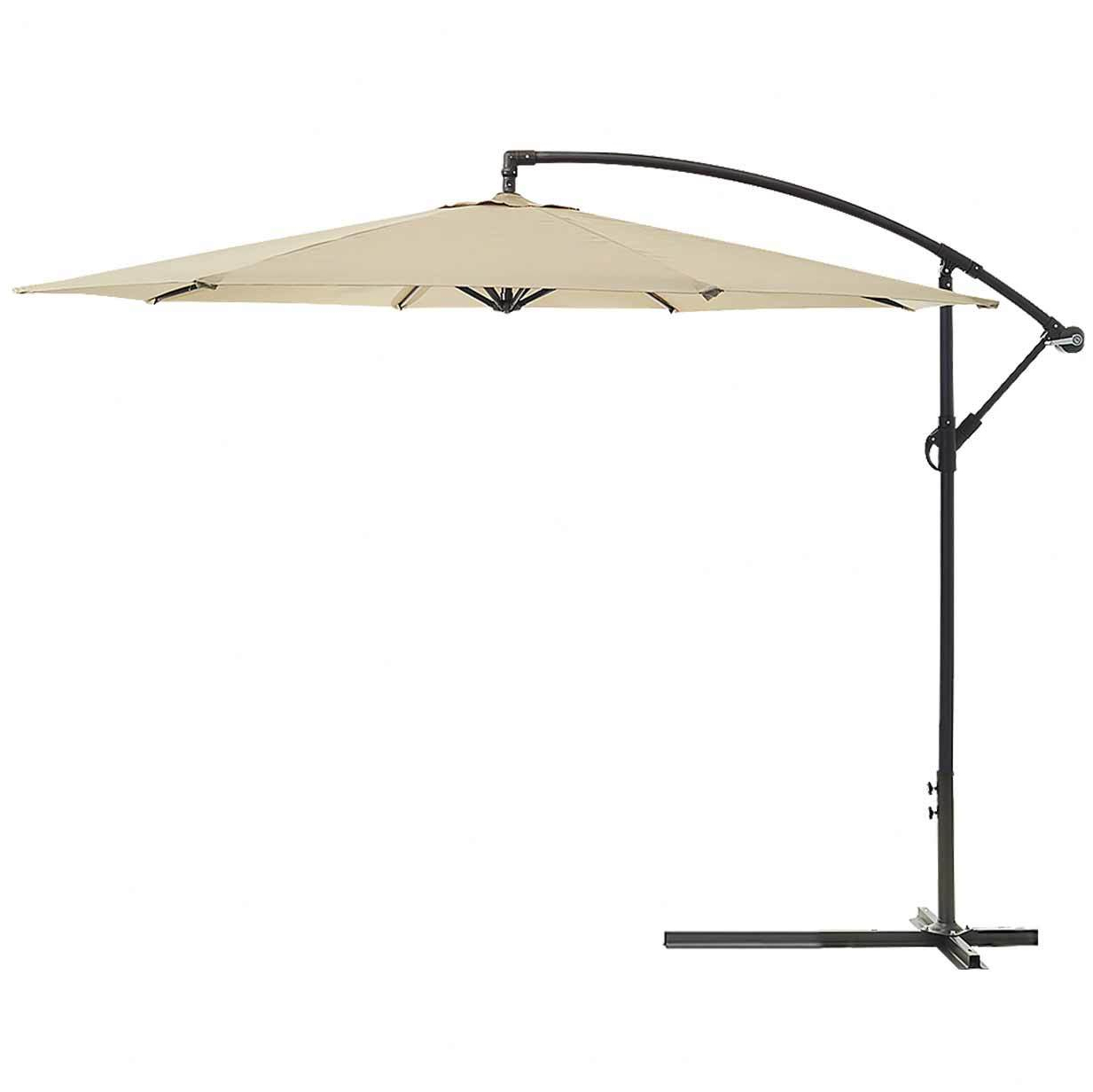 Well Known Anna Cantilever Umbrellas Within Maldives 3m Cantilever Outdoor Umbrella (View 12 of 20)
