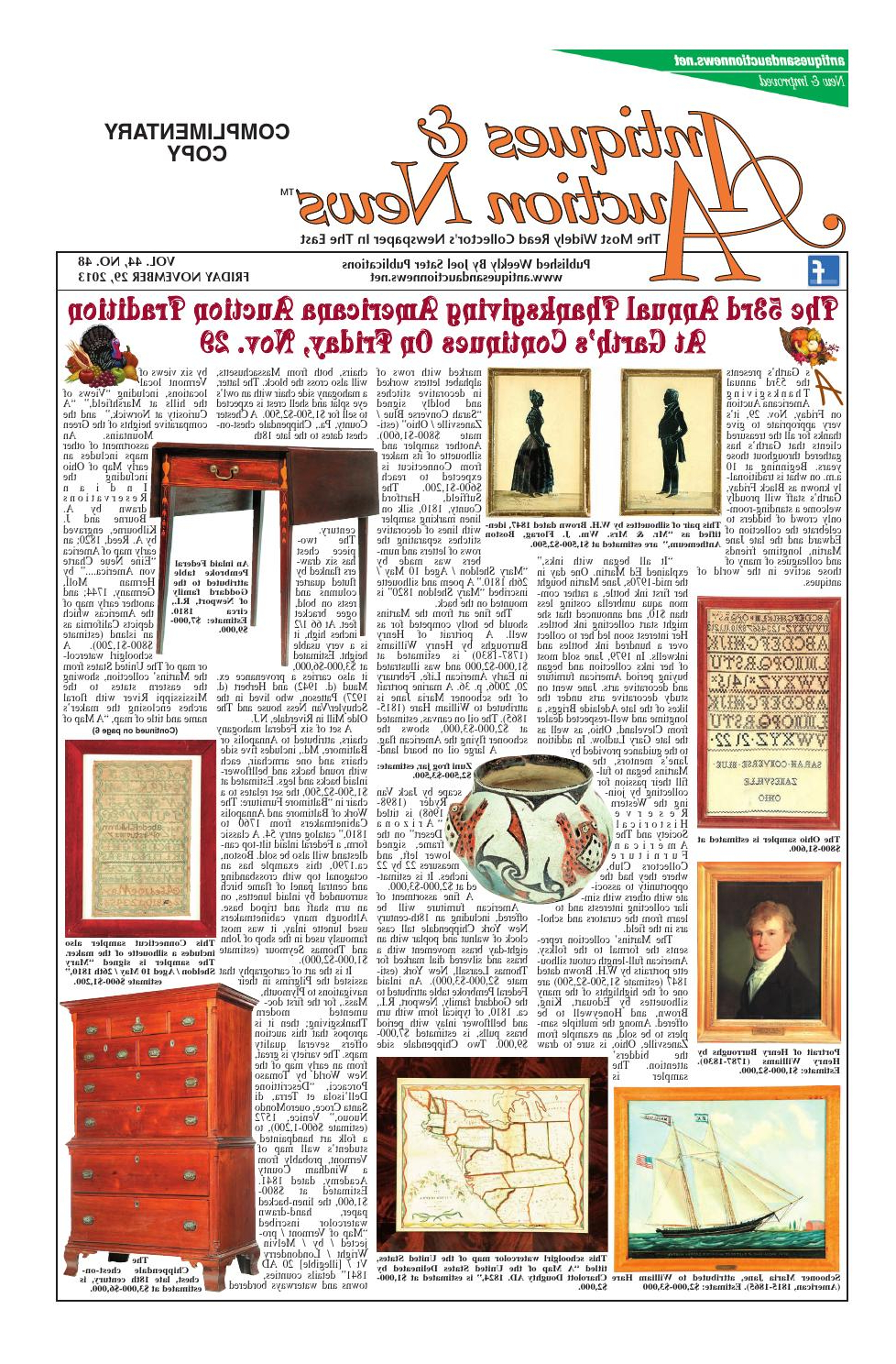 Well Known Antiques & Auction News 112913antiques & Auction News – Issuu Pertaining To Gries Rectangular Market Umbrellas (View 19 of 20)