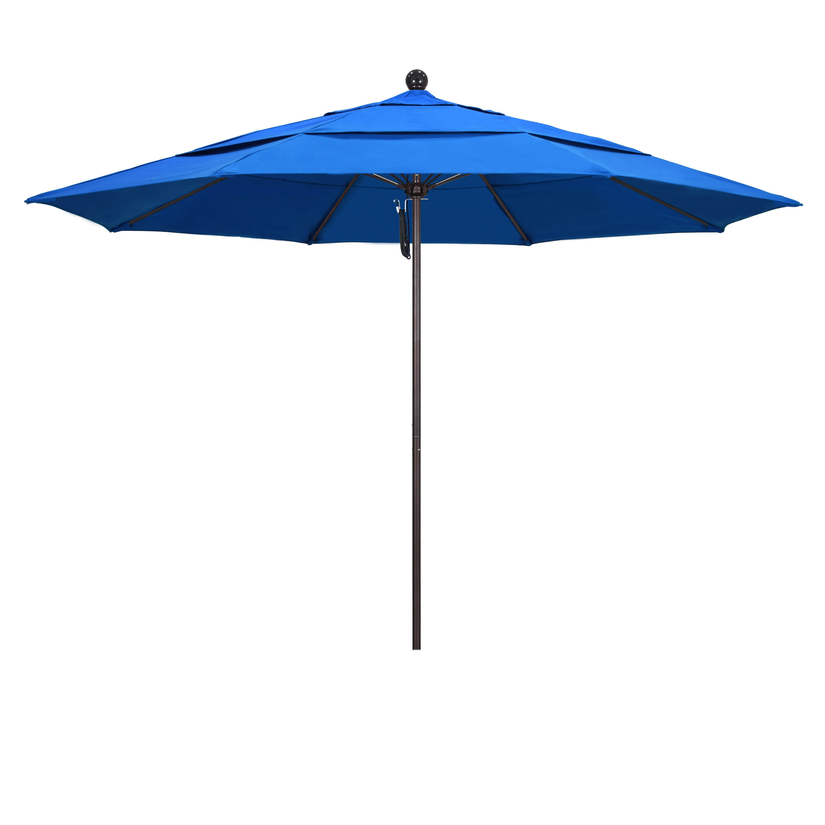Well Known Benson 11' Market Umbrella Intended For Caravelle Square Market Sunbrella Umbrellas (View 17 of 20)