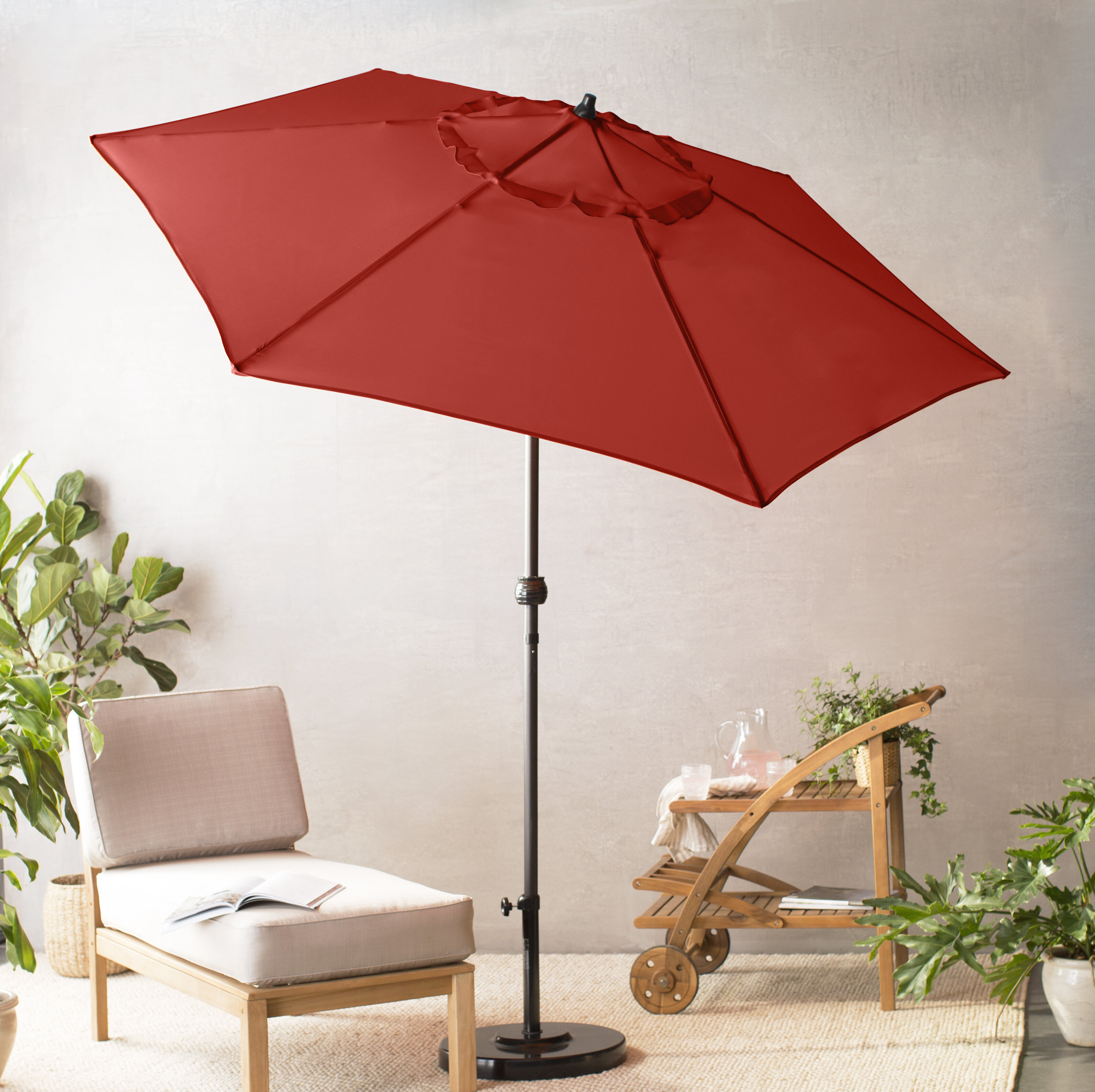 Well Known Bradford Patio Market Umbrellas Intended For Kearney 9' Market Umbrella (View 9 of 20)