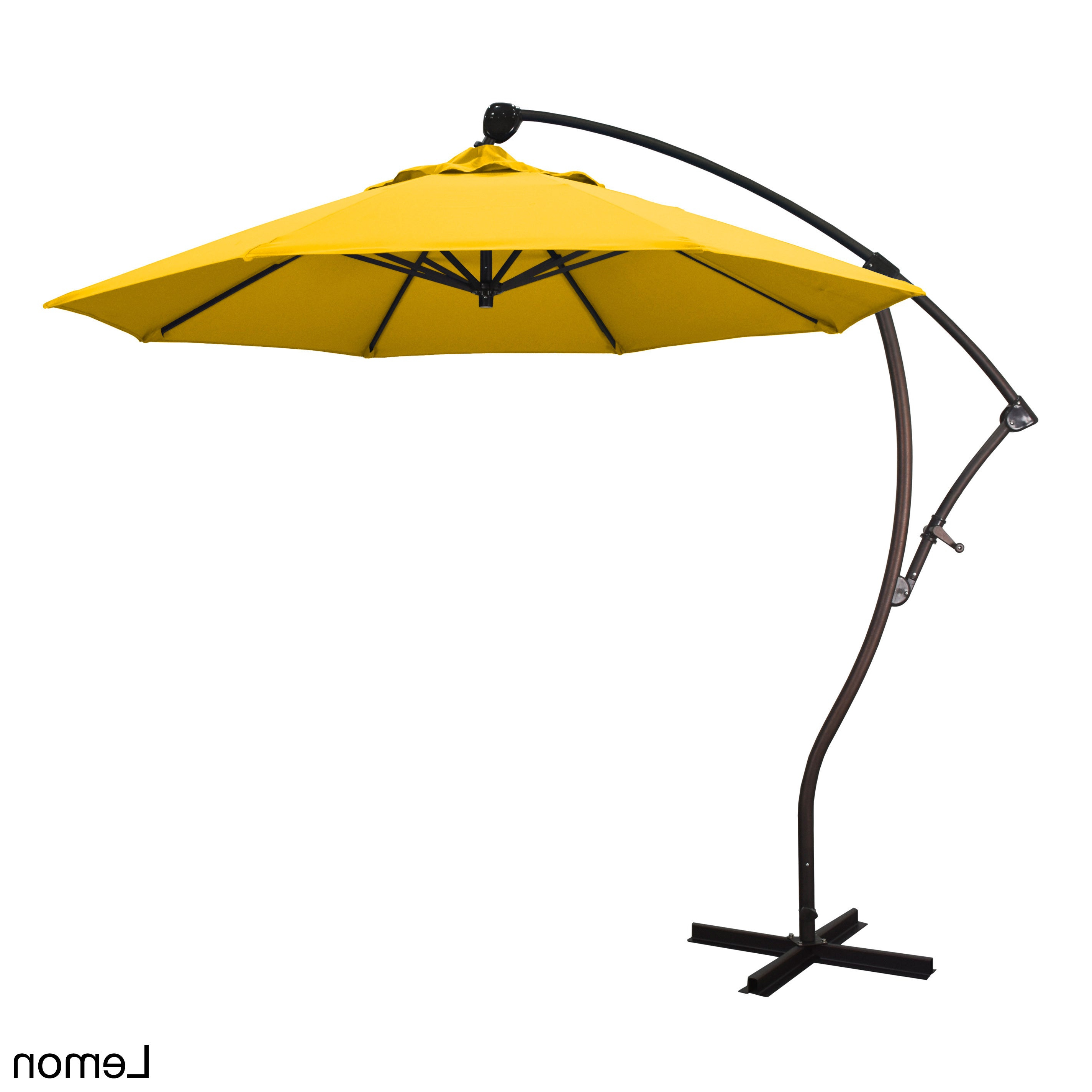 Well Known Buy Yellow, Aluminum Patio Umbrellas Online At Overstock (View 20 of 20)