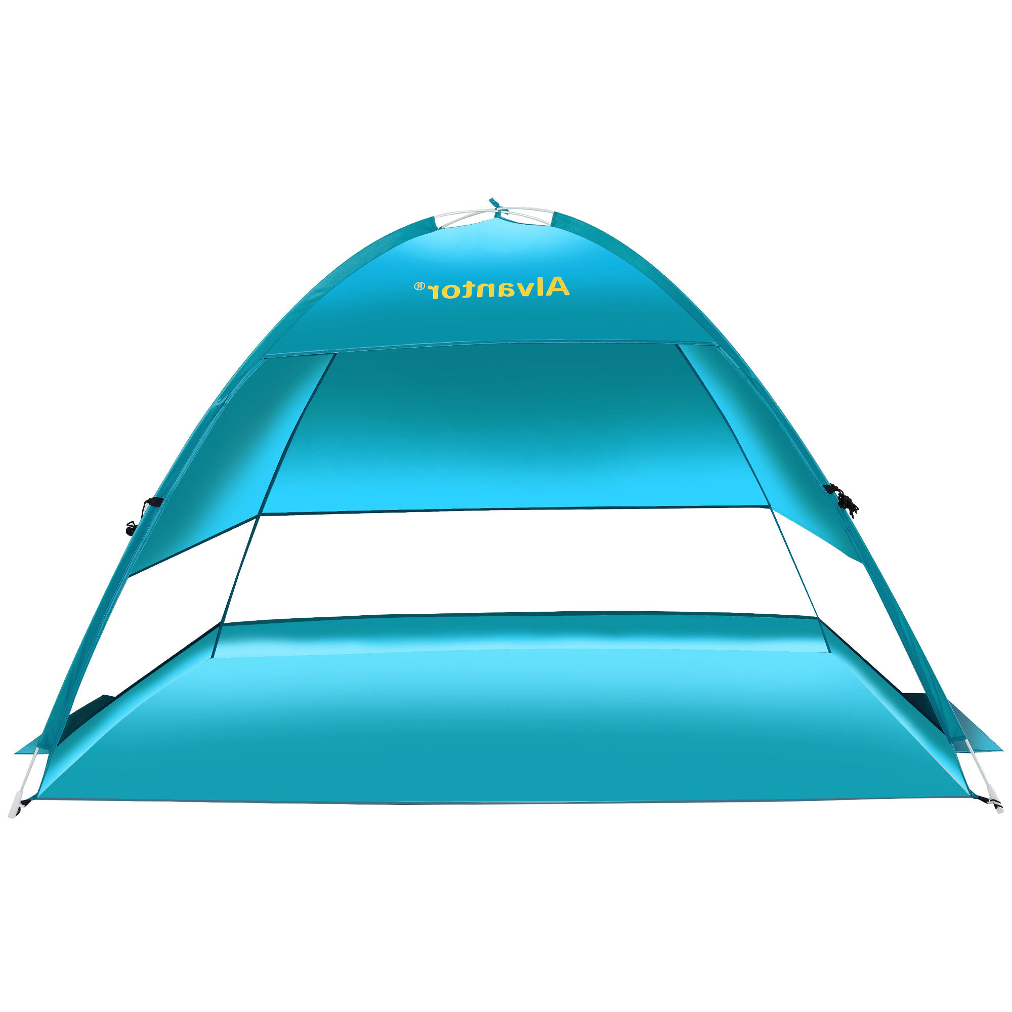 Well Known Coolhut Plus Beach Umbrella Sun Shelter Cabana Pop Up Sun Shade Portable Light Weight 3 Person Tent For Sun Shelter Beach Umbrellas (View 20 of 20)