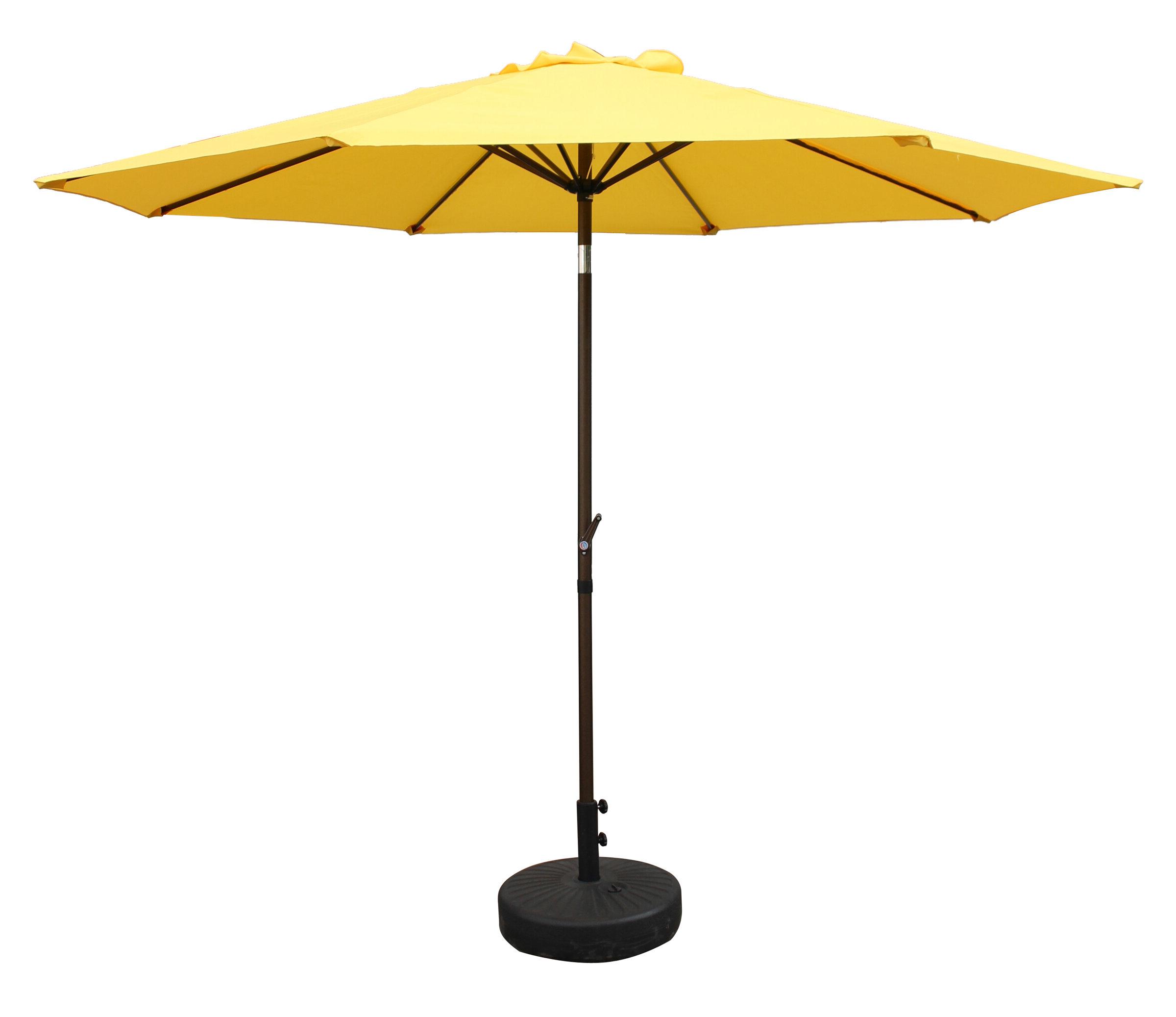 Well Known Devansh Drape Umbrellas Within Devansh 9' Market Umbrella (View 18 of 20)