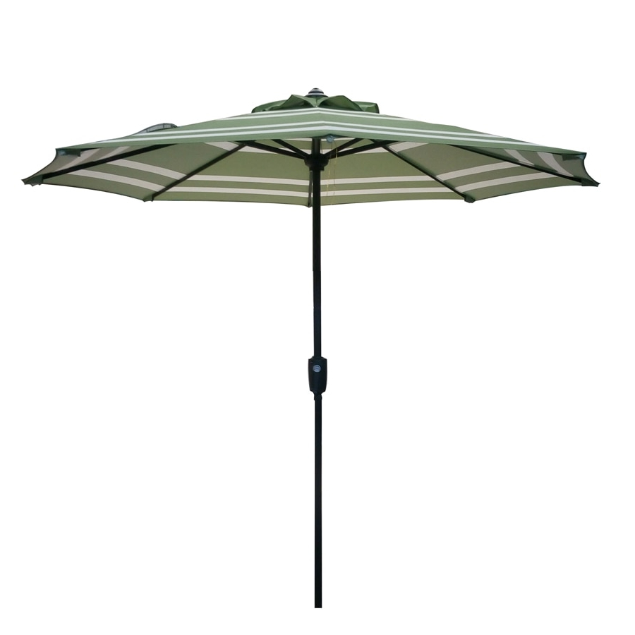 Well Known Kenn Market Umbrellas With Regard To Garden Treasures Market Patio Umbrella (Common: 7.5 Ft W X  (View 20 of 20)