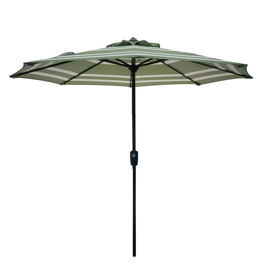 Well Known Kenn Market Umbrellas With Regard To Garden Treasures Market Patio Umbrella (Common: 7.5 Ft W X (View 20 of 20)