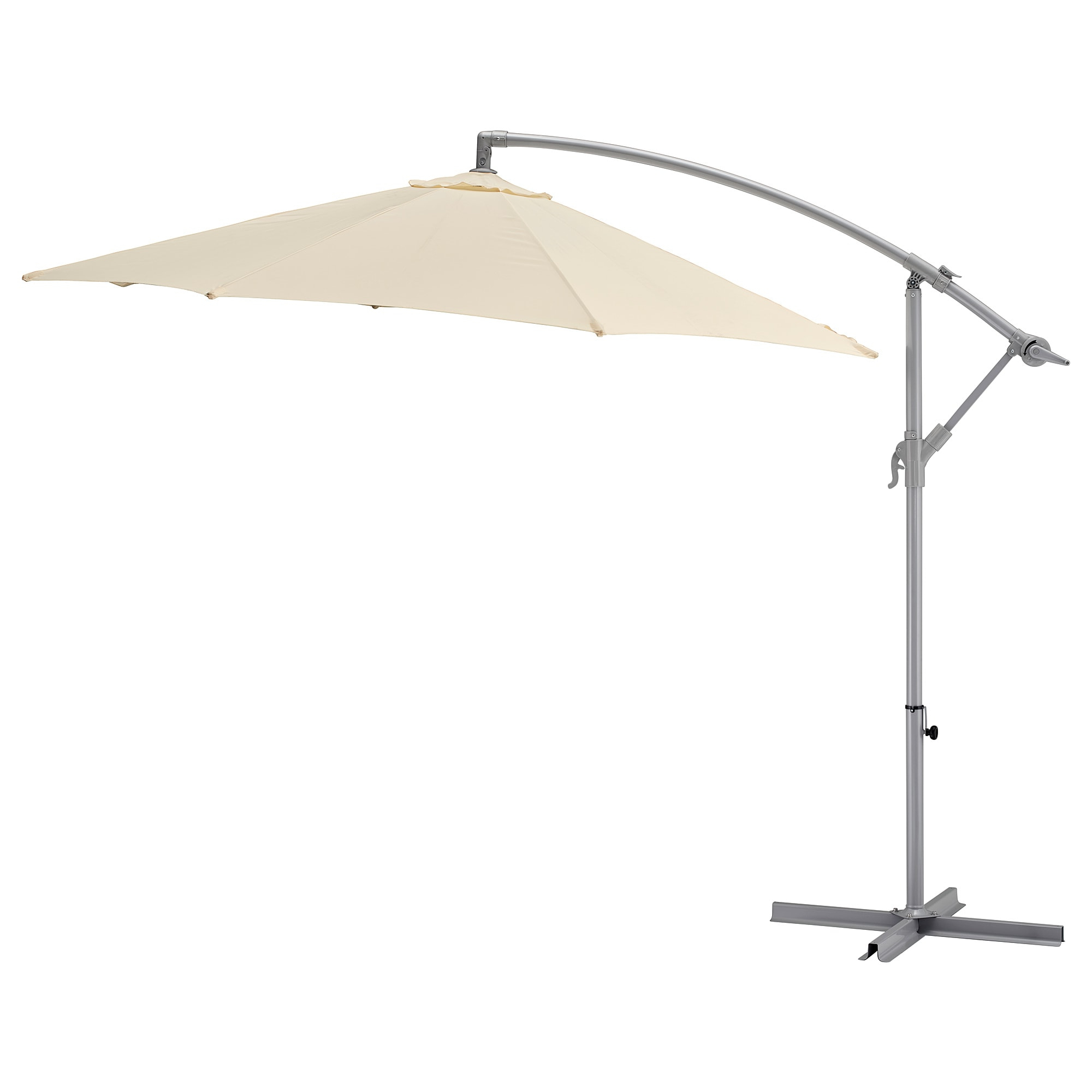 Well Known Parasol, Hanging Karlsö Beige With Regard To Tottenham Patio Hanging Offset Cantilever Umbrellas (View 12 of 20)