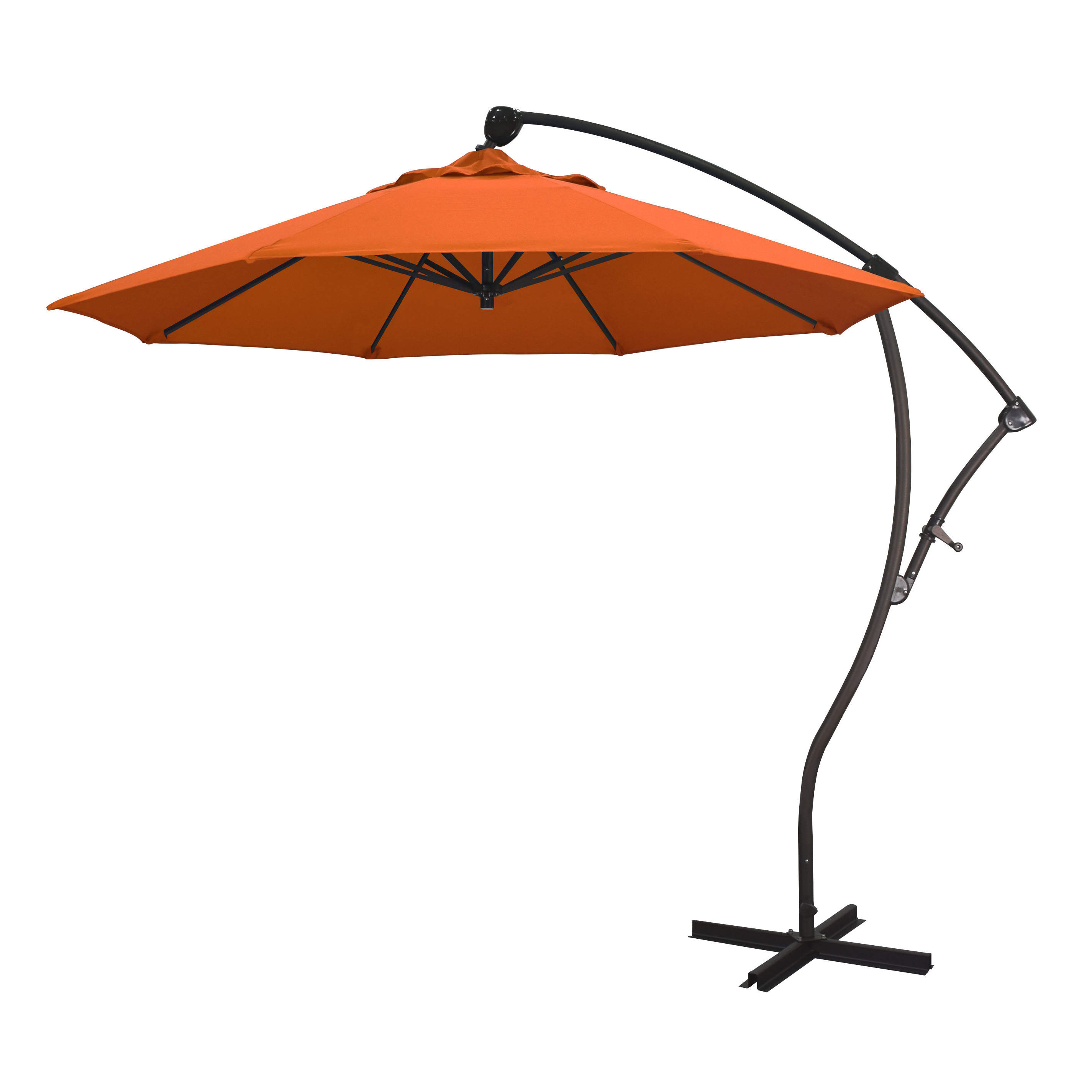 Well Known Ryant 9' Cantilever Umbrella Pertaining To Carlisle Cantilever Sunbrella Umbrellas (View 12 of 20)
