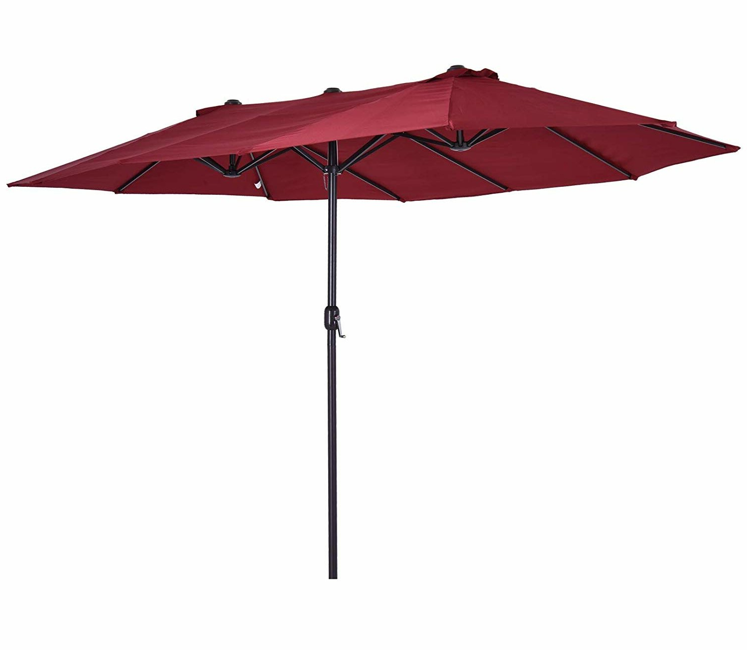 Well Known Solihull 9 X 15 Rectangular Market Umbrella Intended For Lagasse Market Umbrellas (View 8 of 20)
