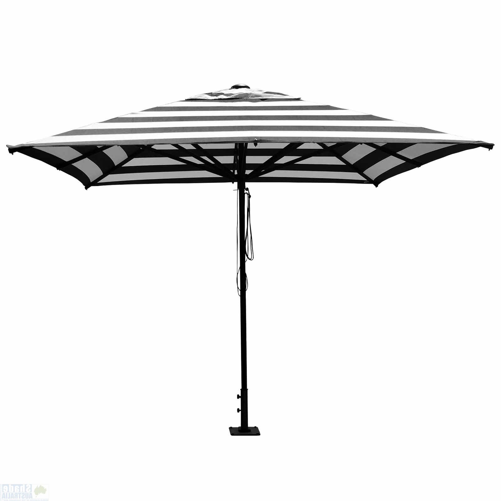 "Well Known Sunranger ""soho"" Market Umbrella Throughout Market Umbrellas (View 1 of 20)"