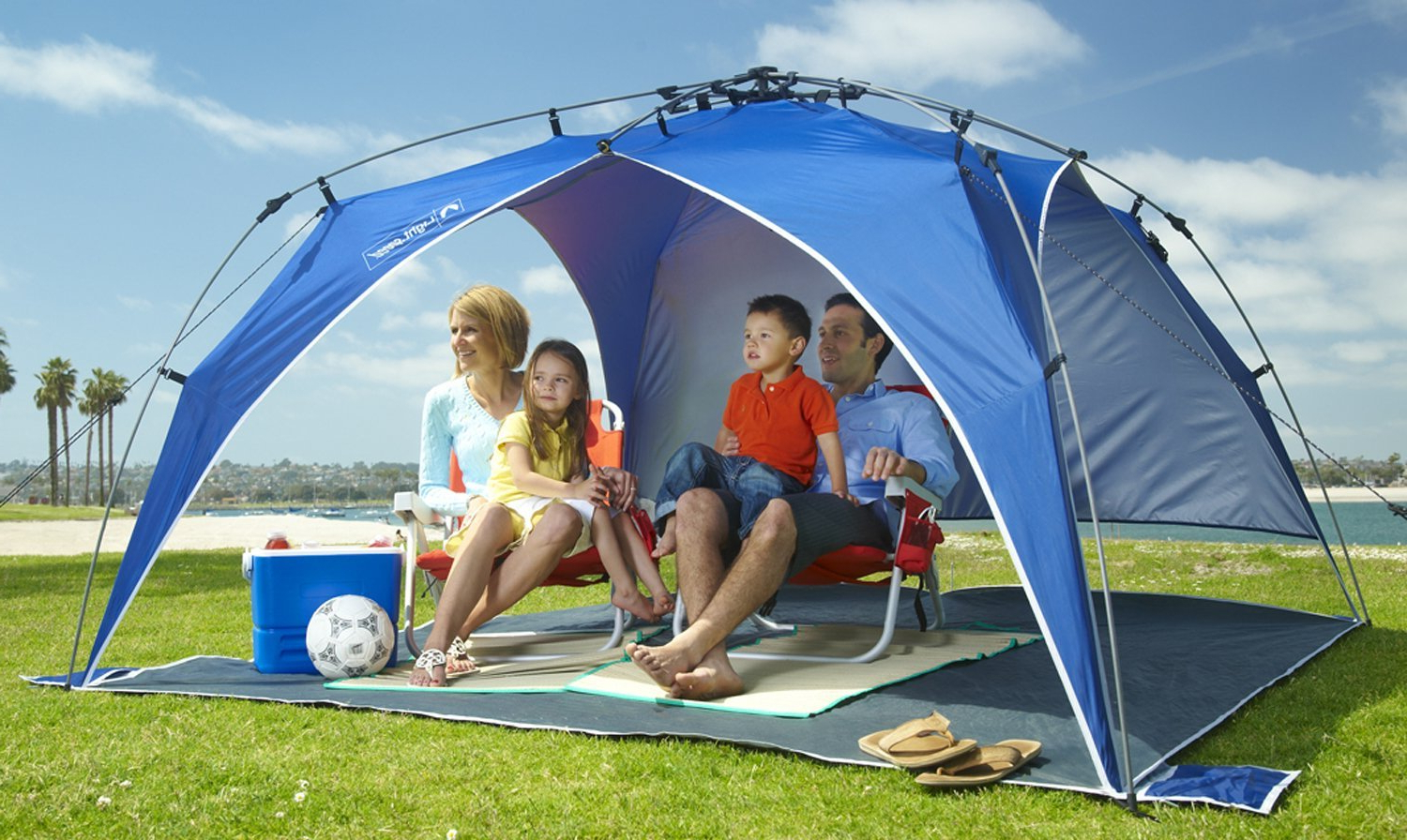 Well Known Top 10 Best Beach Tents Of 2019 – Reviews Throughout Sun Shelter Beach Umbrellas (View 12 of 20)