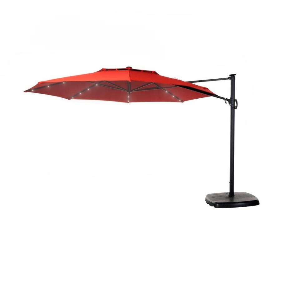Well Known Venice Lighted Umbrellas In Patio Umbrellas At Lowes (View 18 of 20)