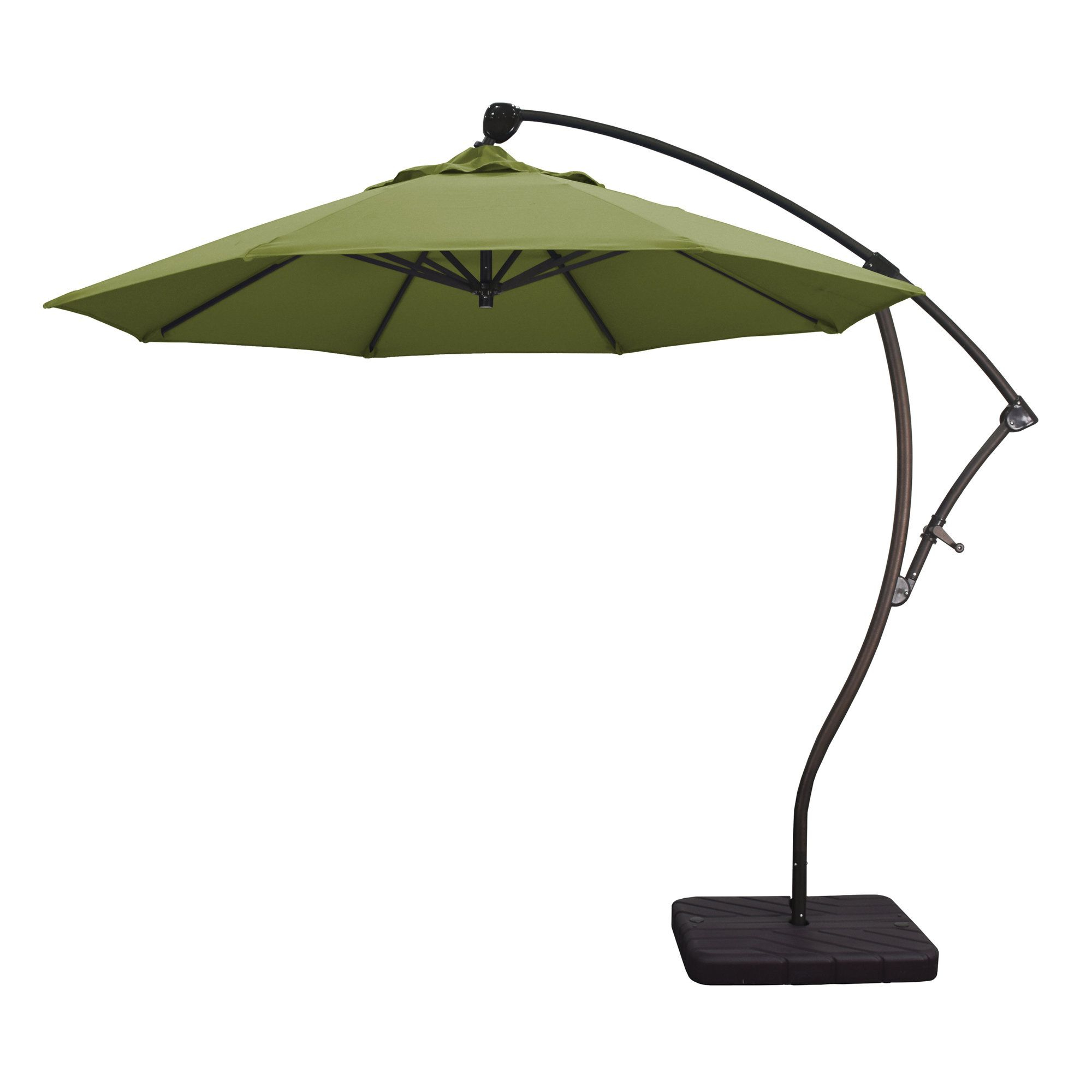 Well Liked Capri 9' Cantilever Umbrella (View 16 of 20)
