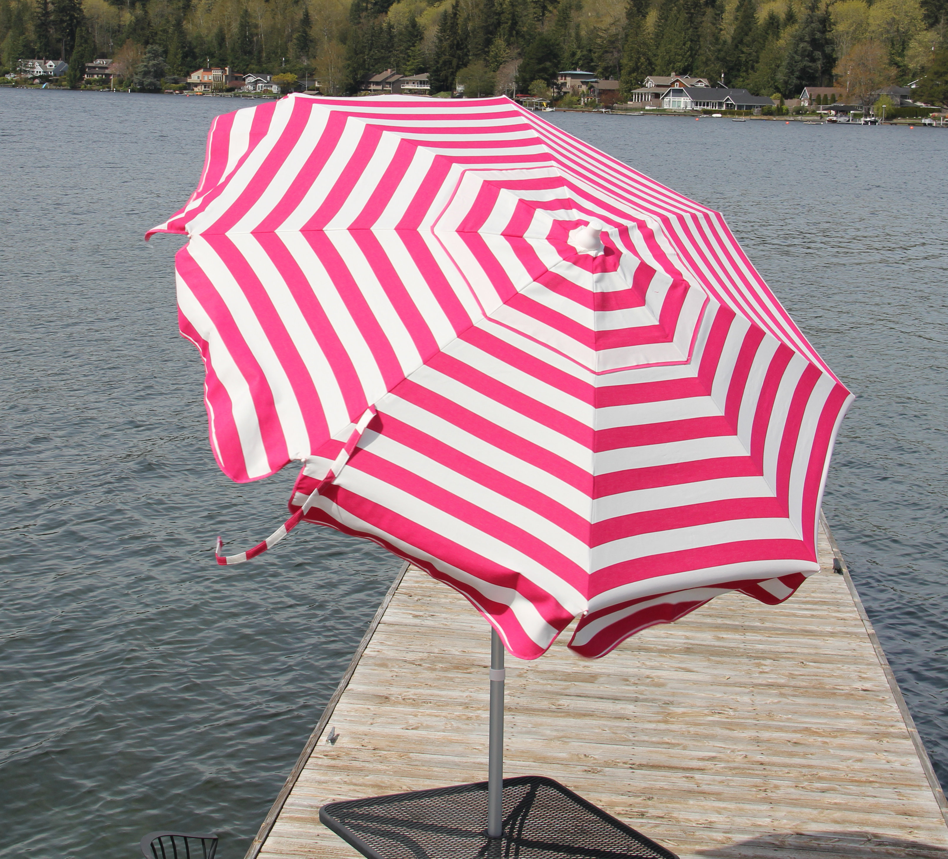 Well Liked Italian 6' Beach Umbrella Inside Italian Drape Umbrellas (View 11 of 20)
