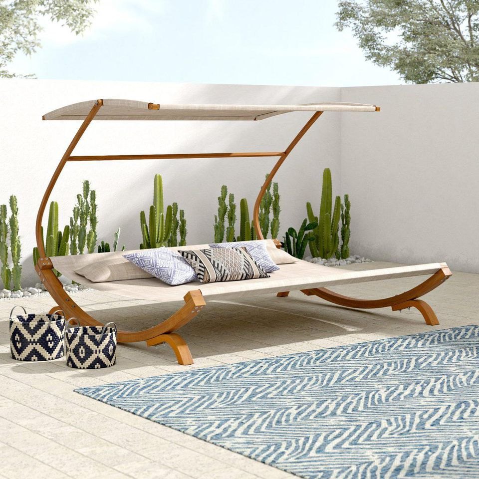 Well Liked Jendayi Square Cantilever Umbrellas With The Best Deals To Shop At Wayfair's Outdoor Furniture Sale (View 16 of 20)