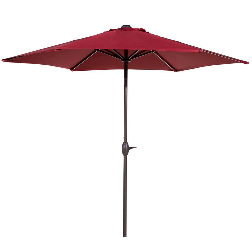 Well Liked Mald Square Cantilever Umbrellas Throughout Abba Patio 9 Ft (View 13 of 20)