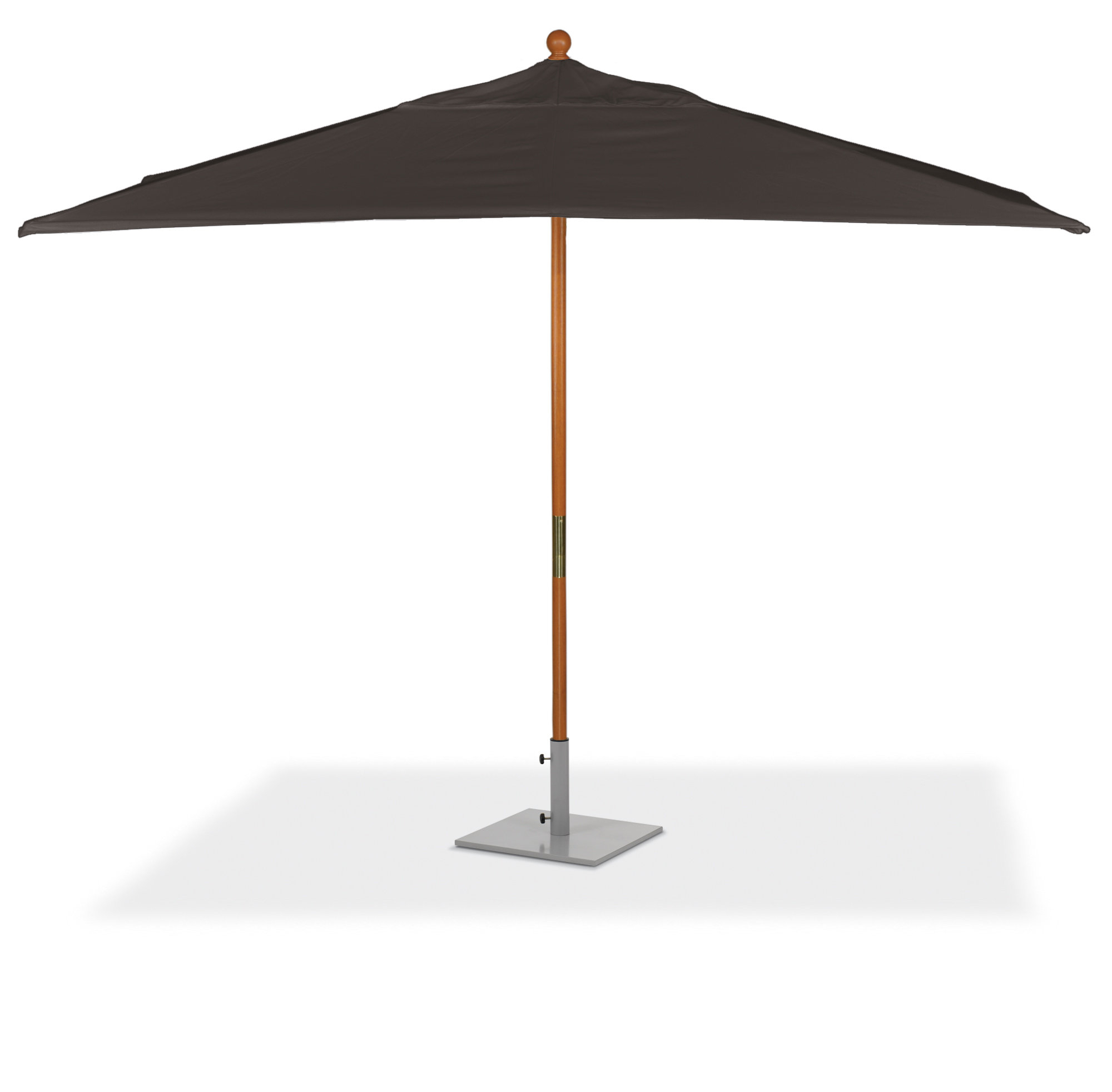 Well Liked Standwood 6' X 10' Rectangular Market Sunbrella Umbrella Inside Zadie Twin Rectangular Market Umbrellas (View 18 of 20)