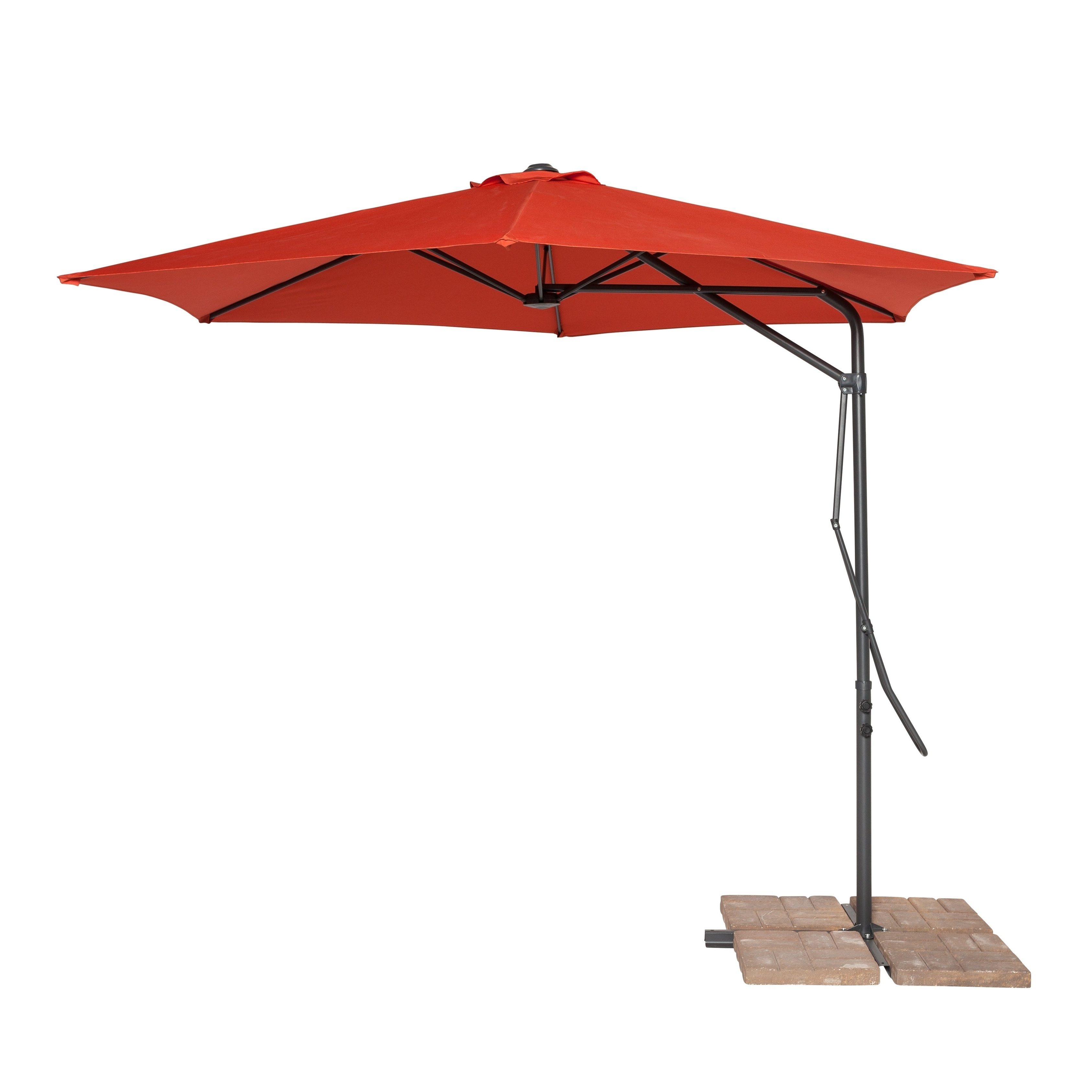 Widely Used Coolaroo Cantilever Umbrellas Inside Coolaroo 10' Cantilever Umbrella Terracotta (View 20 of 20)