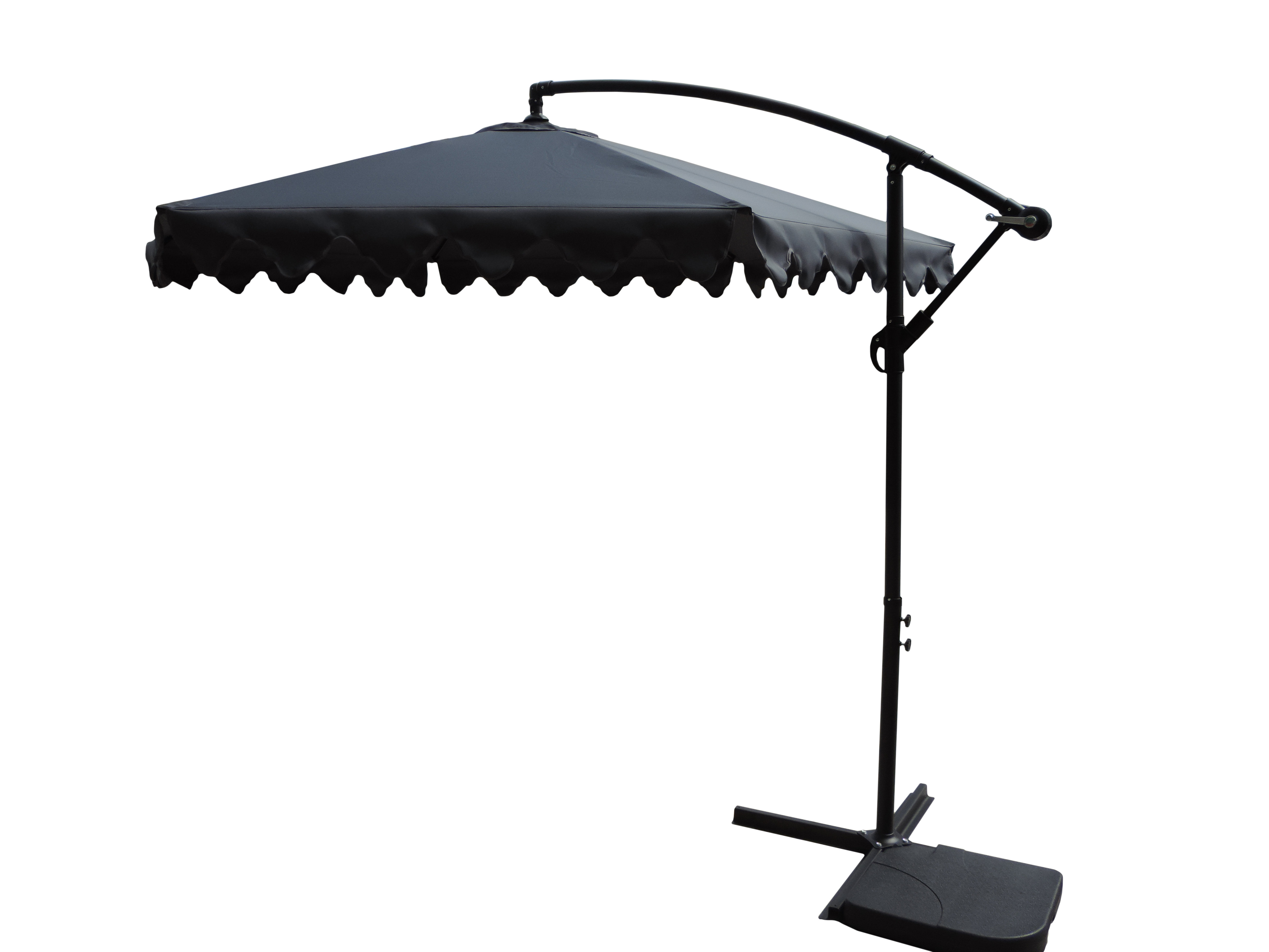 Widely Used Imogen Hanging Offset Cantilever Umbrellas With Regard To Booneville 10' Cantilever Umbrella (View 14 of 20)