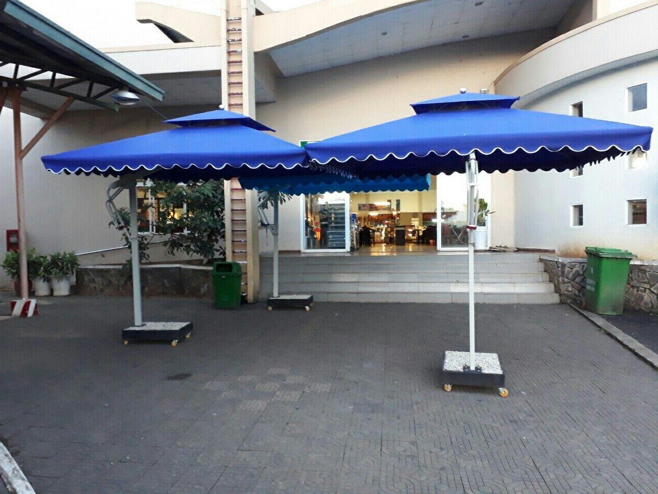 Widely Used Imogen Hanging Offset Cantilever Umbrellas Within Dù Che Nắng Chống Thấm Nhôm Hợp Kim Cho Hồ Bơi: 1) Nguyên Liệu: Vật (View 19 of 20)