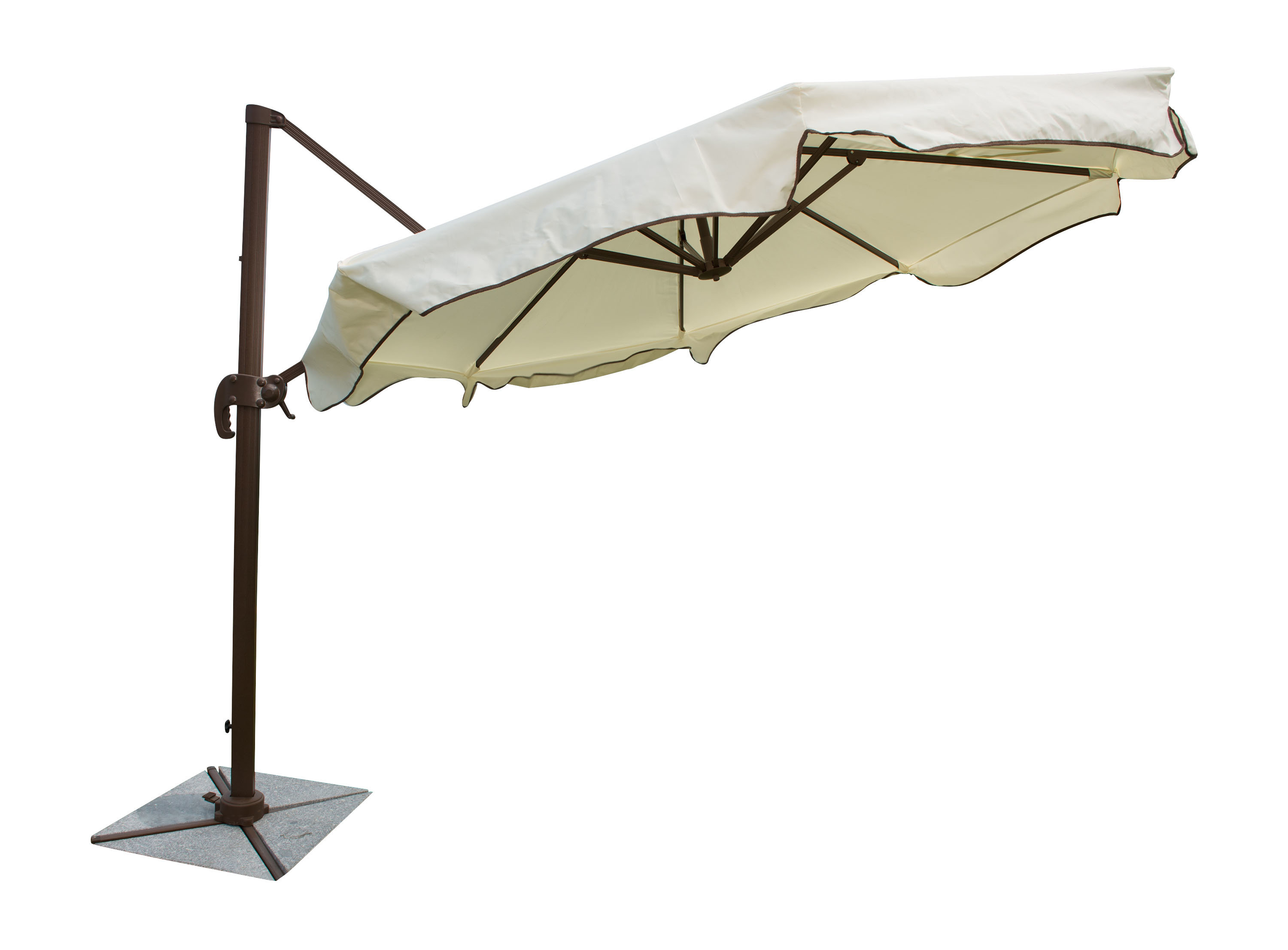 Widely Used Island Breeze 10' Cantilever Umbrella Throughout Voss Cantilever Sunbrella Umbrellas (View 11 of 20)