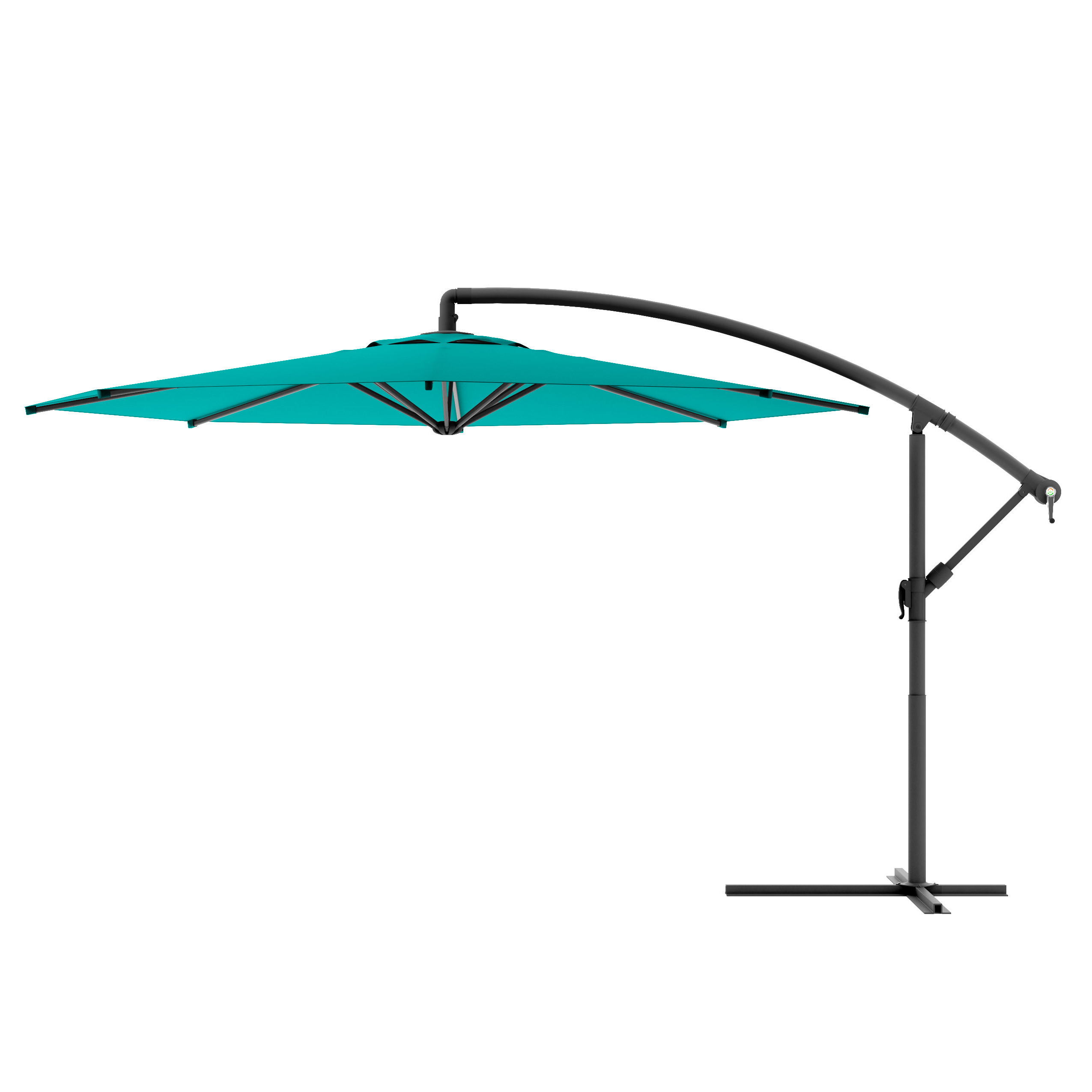 Widely Used Jaelynn Cantilever Umbrellas Within Freda  (View 20 of 20)
