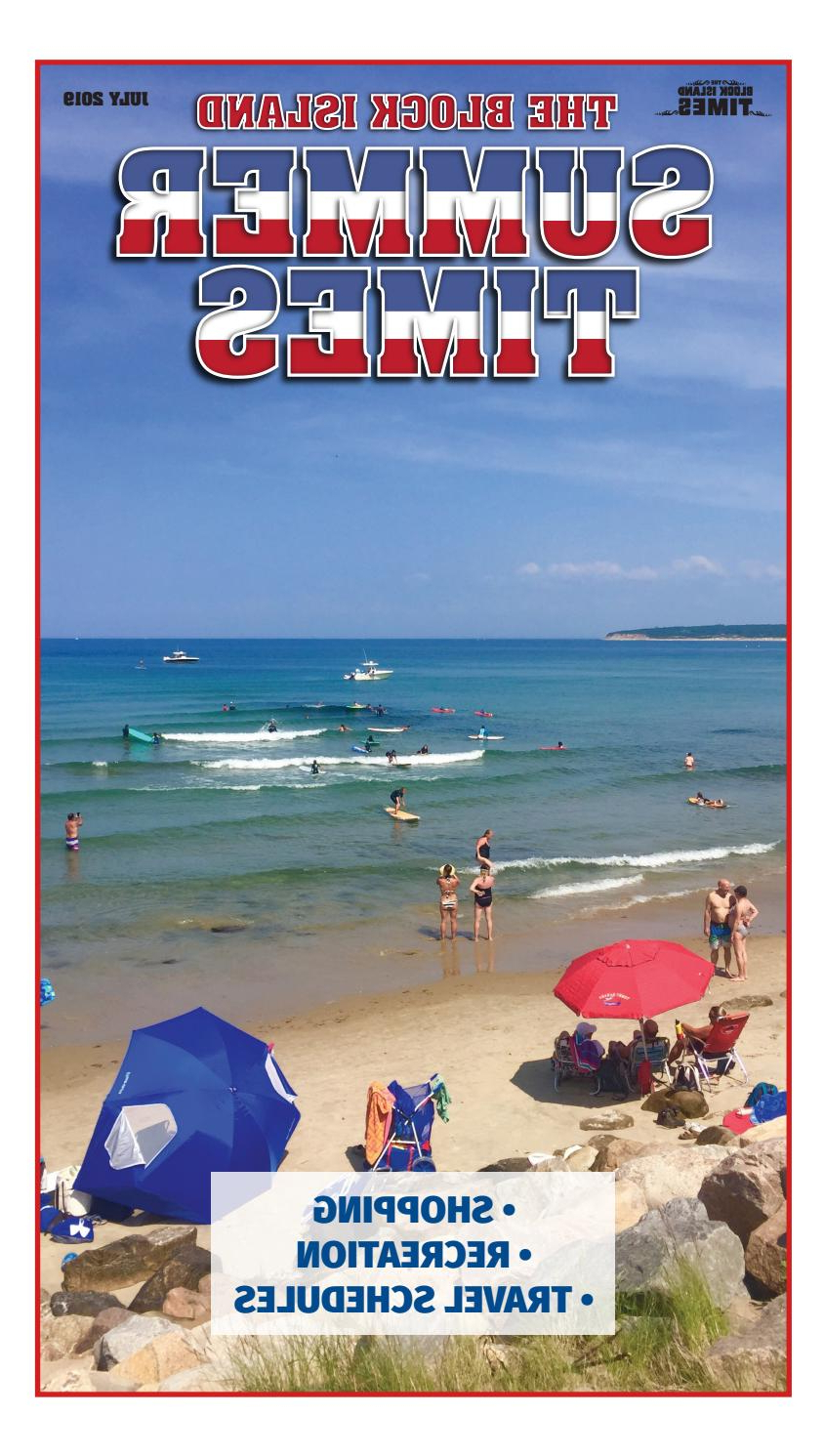 Widely Used July 2019 Block Island Summer Timesblockisland – Issuu Throughout Schroeder Heavy Duty Beach Umbrellas (View 20 of 20)