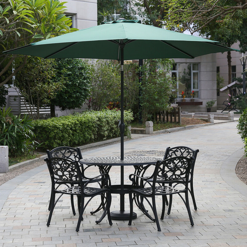 Widely Used Karr Cantilever Umbrellas For Alcott Hill Hatten 10' Market Umbrella (View 17 of 20)