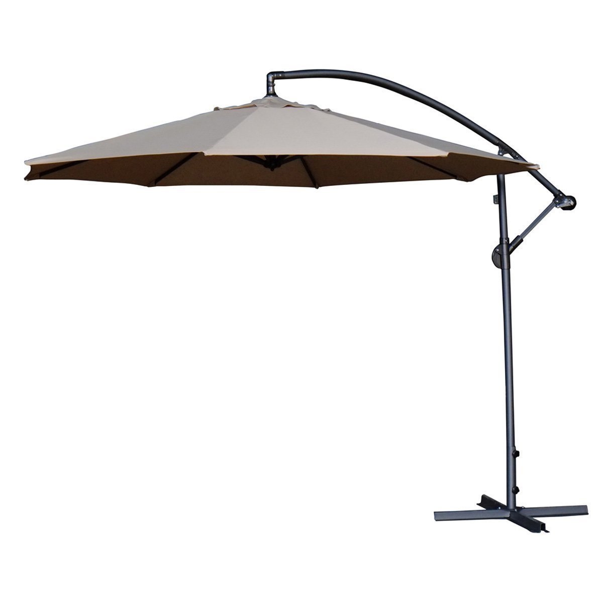 Widely Used Ketcham Cantilever Umbrellas In Irven 10' Cantilever Umbrella (View 20 of 20)