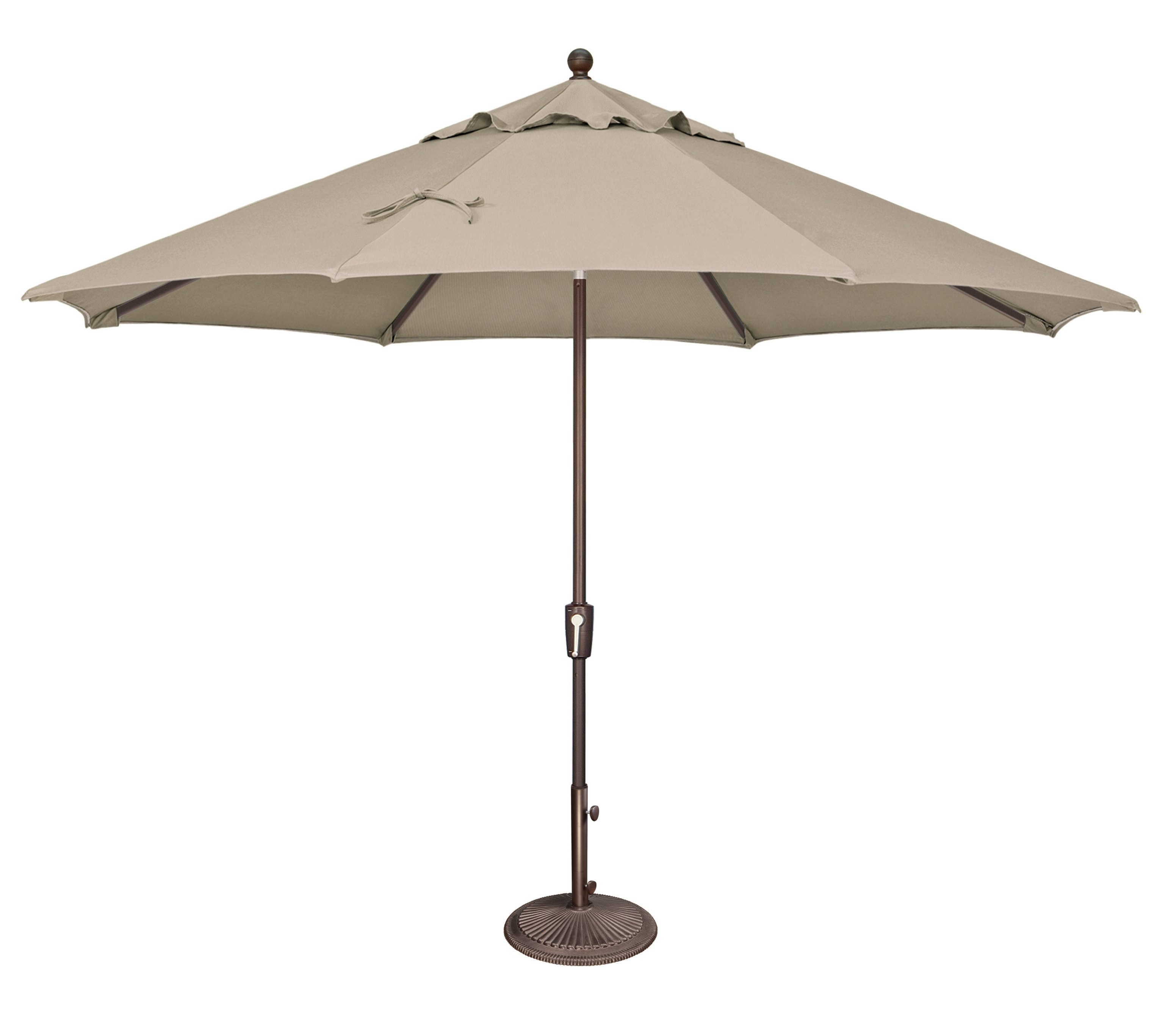 Widely Used Launceston 11' Market Umbrella Intended For Crowland Market Sunbrella Umbrellas (View 20 of 20)