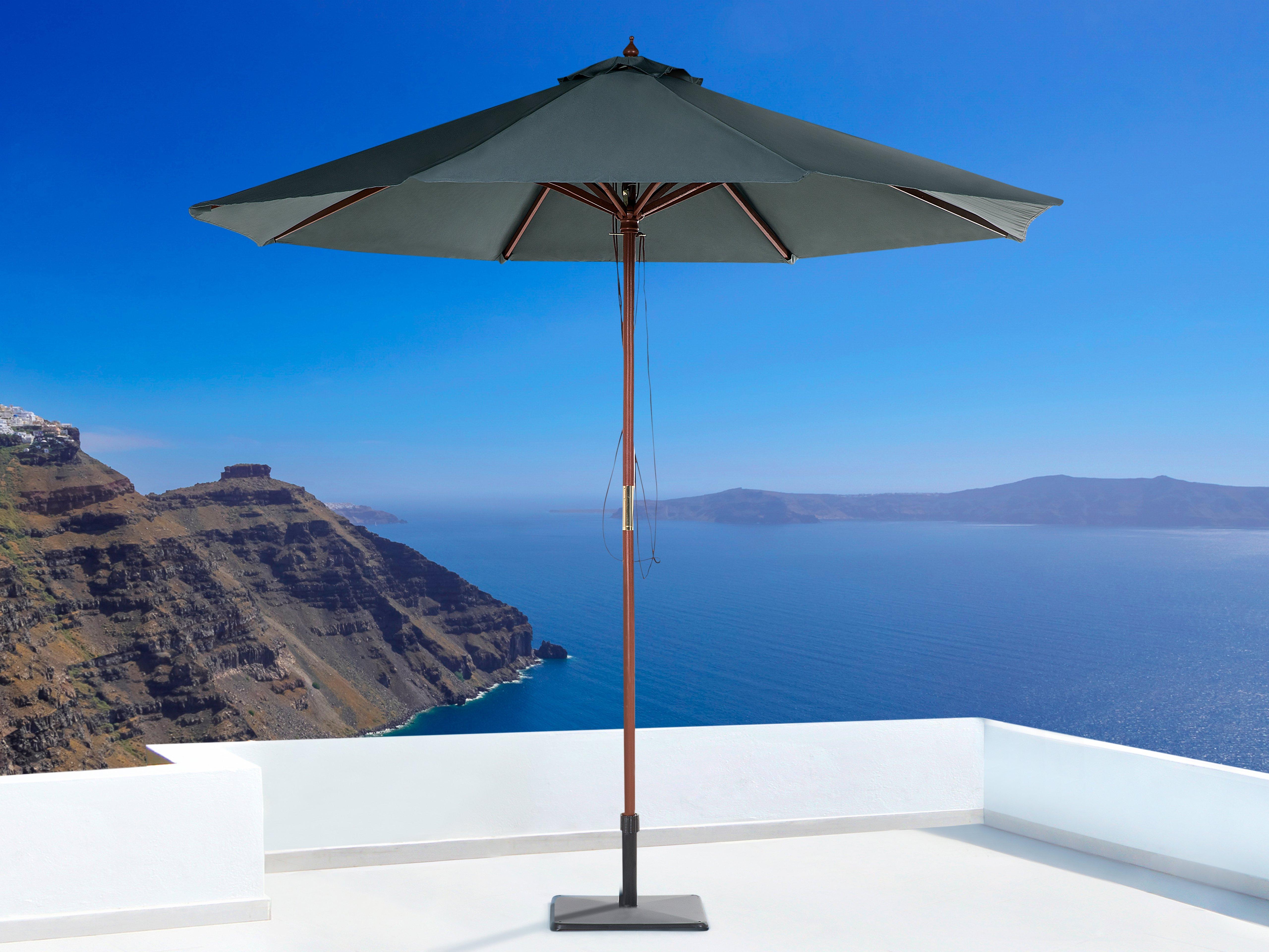 Widely Used Lora Market Umbrellas Regarding Espinal 9' Market Umbrella (View 20 of 20)