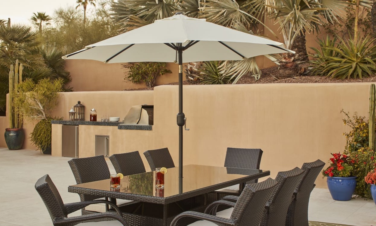 Widely Used Mald Square Cantilever Umbrellas Regarding Choose The Best Patio Umbrella With These Expert Tips (View 14 of 20)