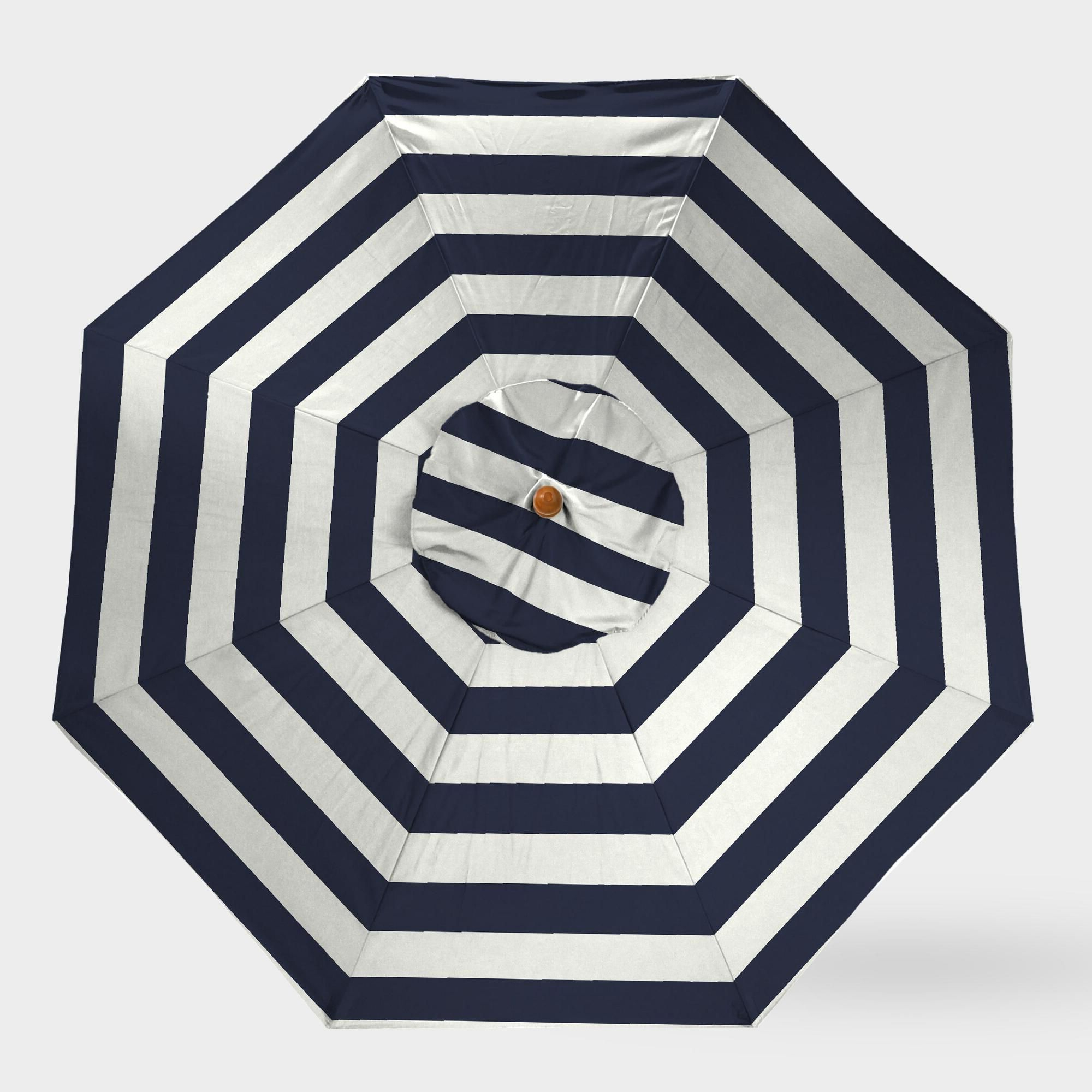 Widely Used Peacoat Blue Stripe 5 Ft Replacement Umbrella Canopyworld Market Throughout Darwen Tiltable Patio Stripe Market Umbrellas (View 19 of 20)