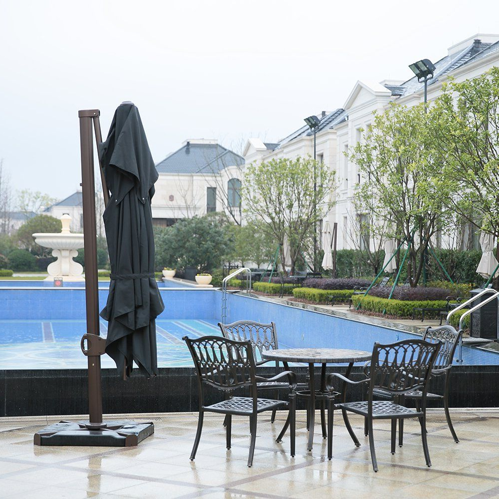 Widely Used Sorara 1010 Ft Square Offset Cantilever Umbrella Patio Hanging With Regard To Fordwich Rectangular Cantilever Umbrellas (View 8 of 20)