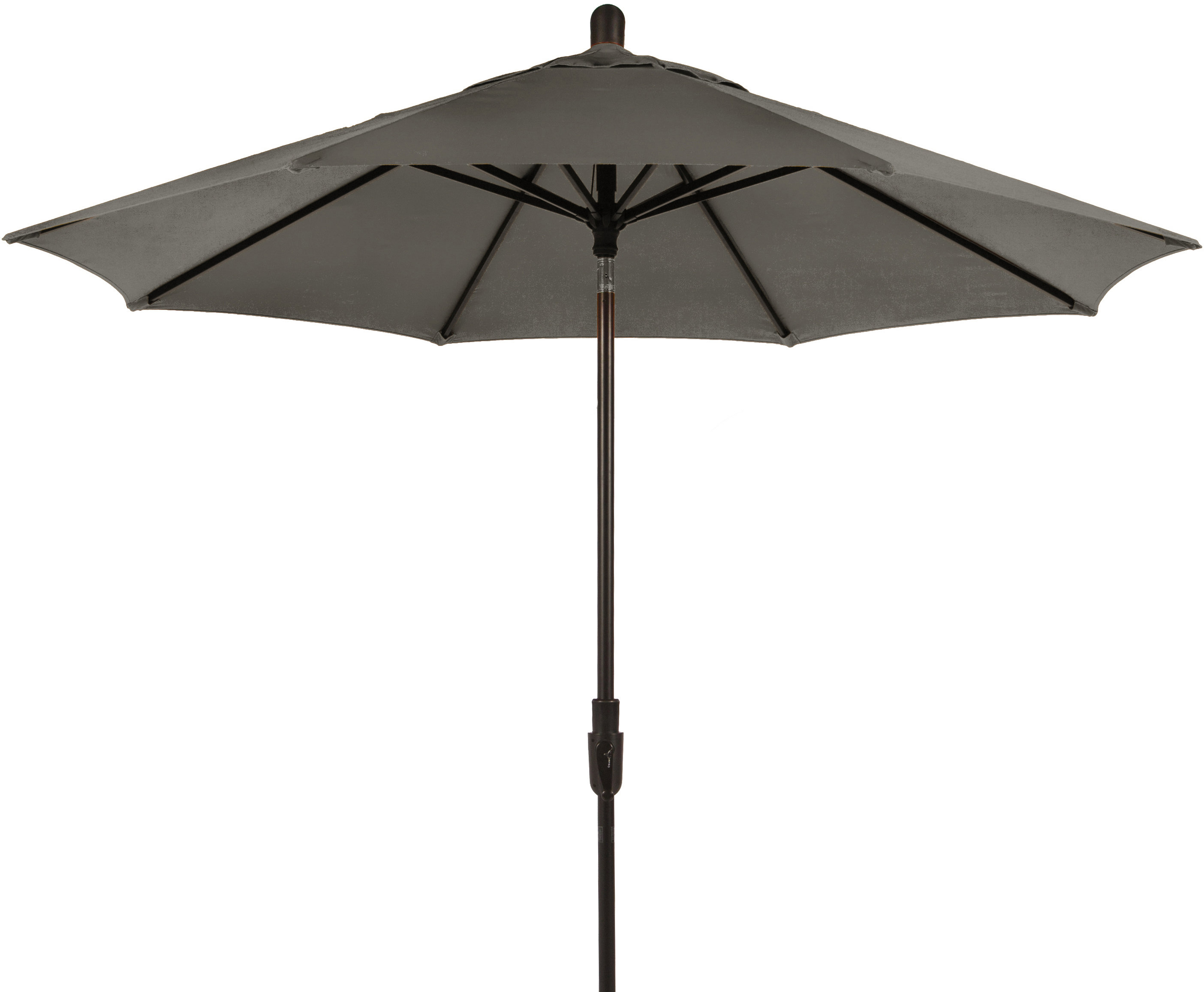 Wiebe 9' Market Umbrella Throughout Well Known Wiebe Auto Tilt Square Market Sunbrella Umbrellas (View 14 of 20)