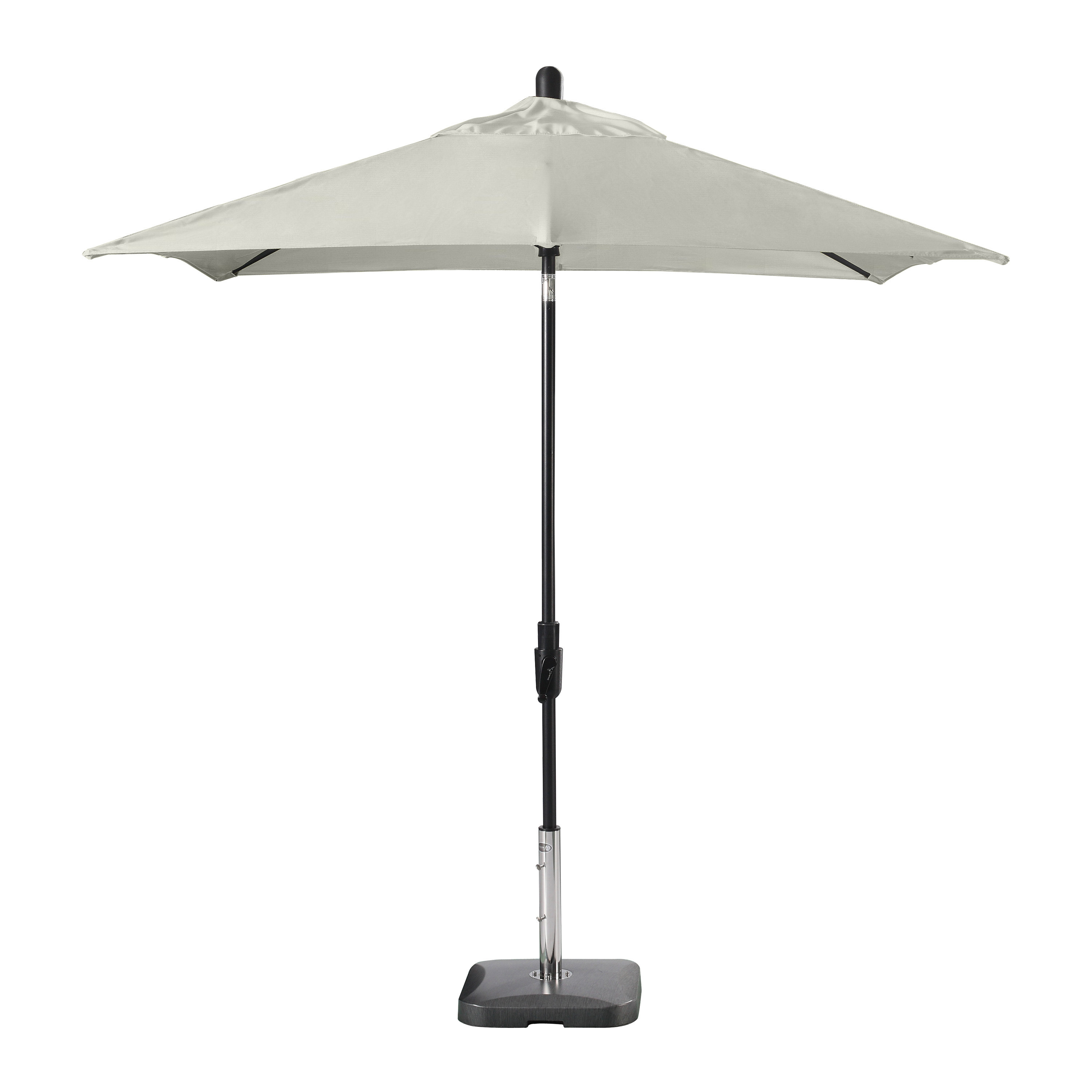 Featured Photo of Wiebe Auto Tilt Square Market Sunbrella Umbrellas