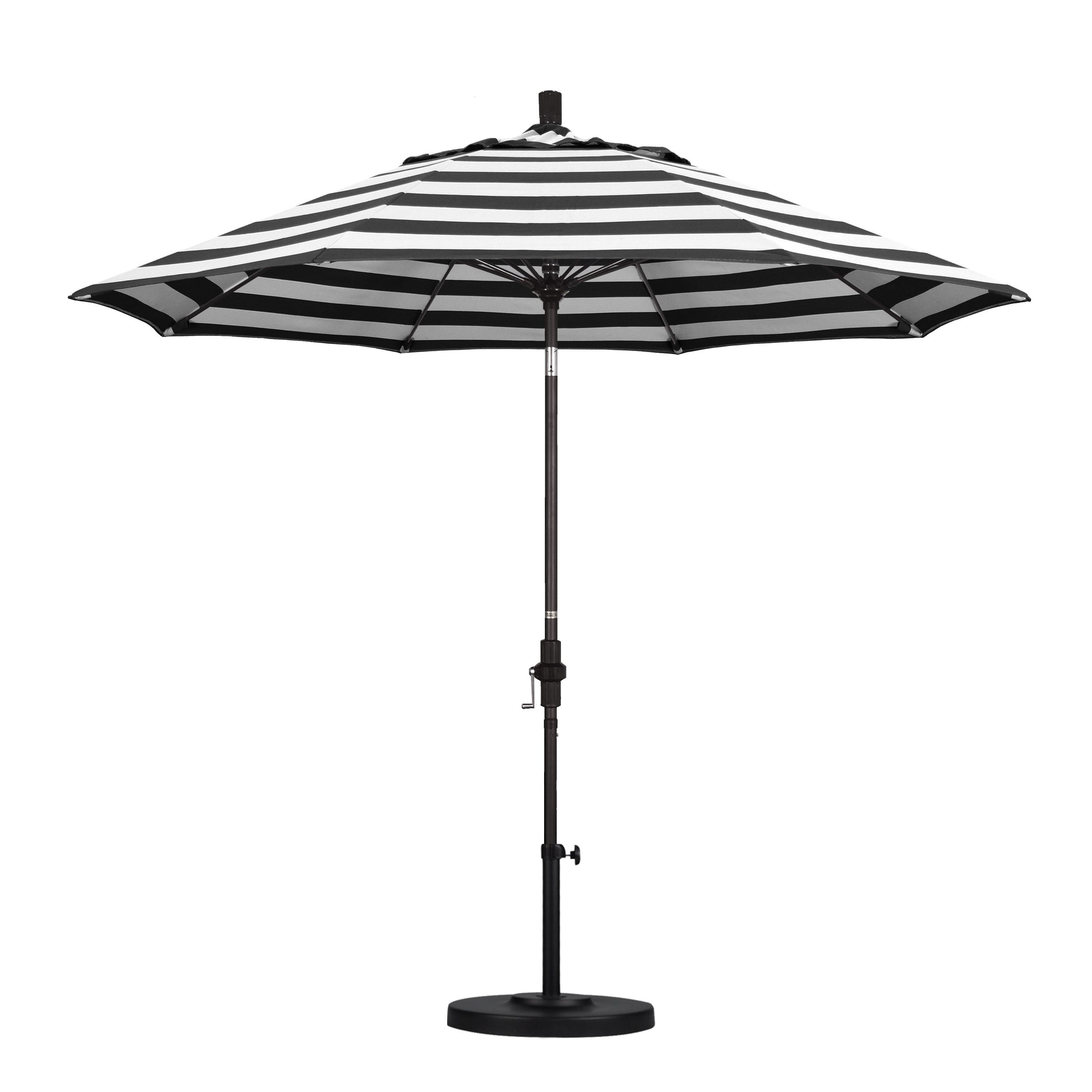 Wiebe Market Sunbrella Umbrellas For Favorite 9' Market Sunbrella Umbrella (View 15 of 20)
