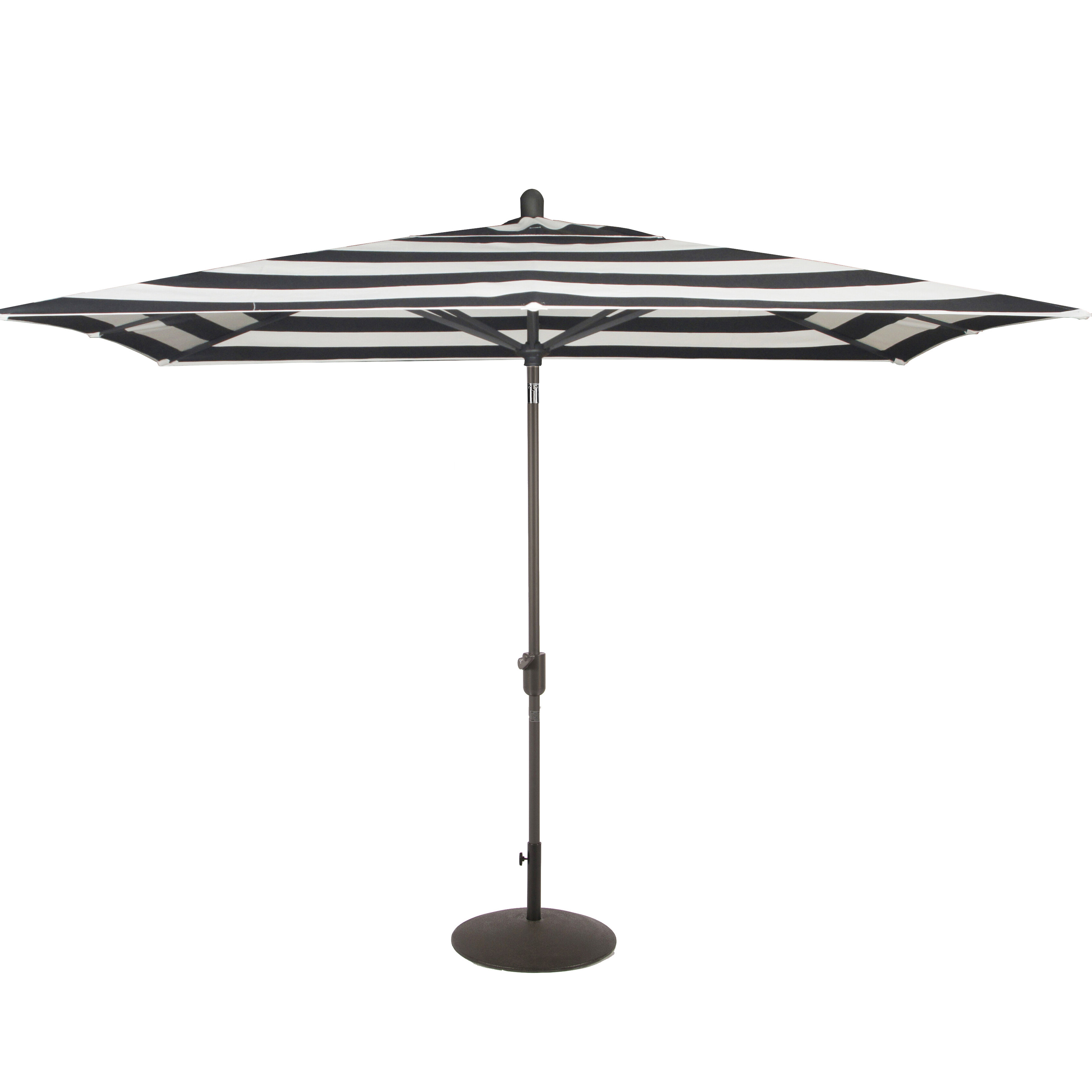 Wiebe Market Sunbrella Umbrellas Regarding Most Recent Wieczorek Auto Tilt 10' X  (View 18 of 20)
