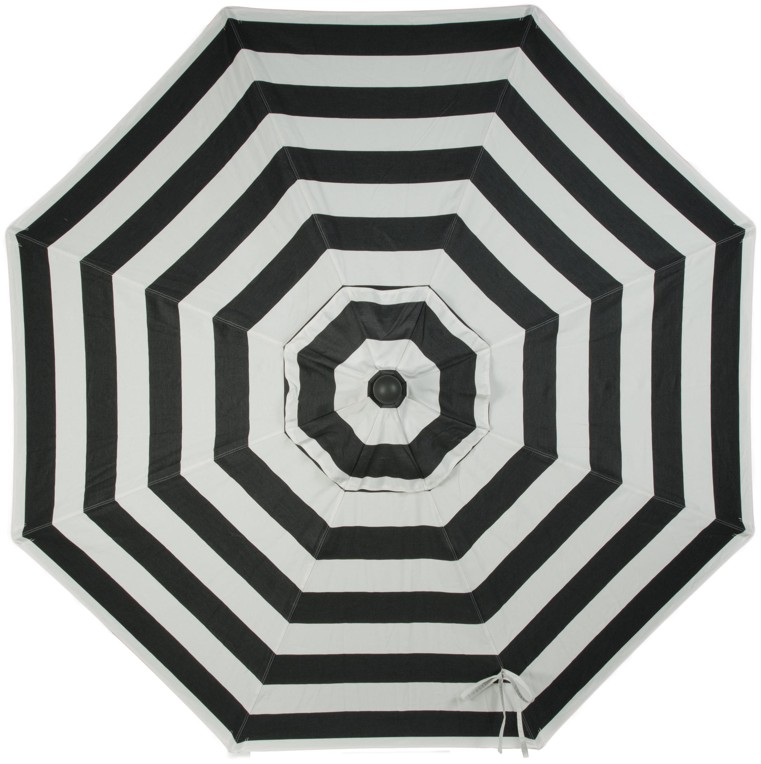 Wiebe Market Sunbrella Umbrellas With Regard To Well Known Wiebe Auto Tilt 9' Market Umbrella (View 20 of 20)