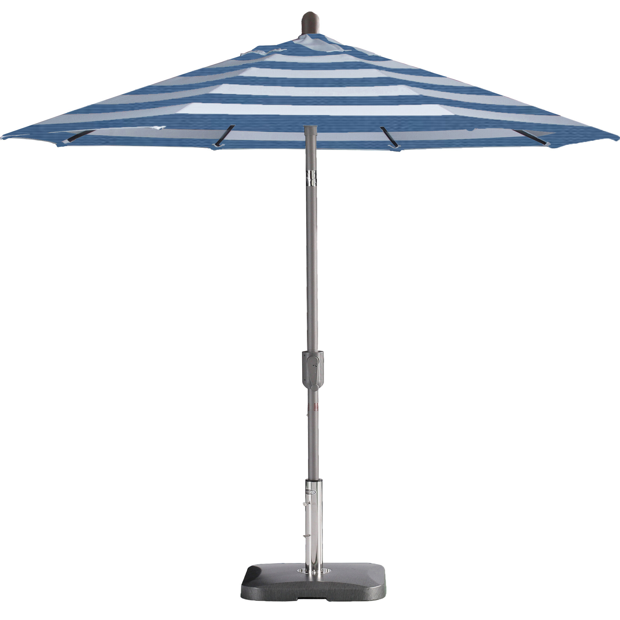 Wiechmann Push Tilt 9' Market Sunbrella Umbrella With Regard To Most Popular Wiebe Auto Tilt Square Market Sunbrella Umbrellas (View 19 of 20)
