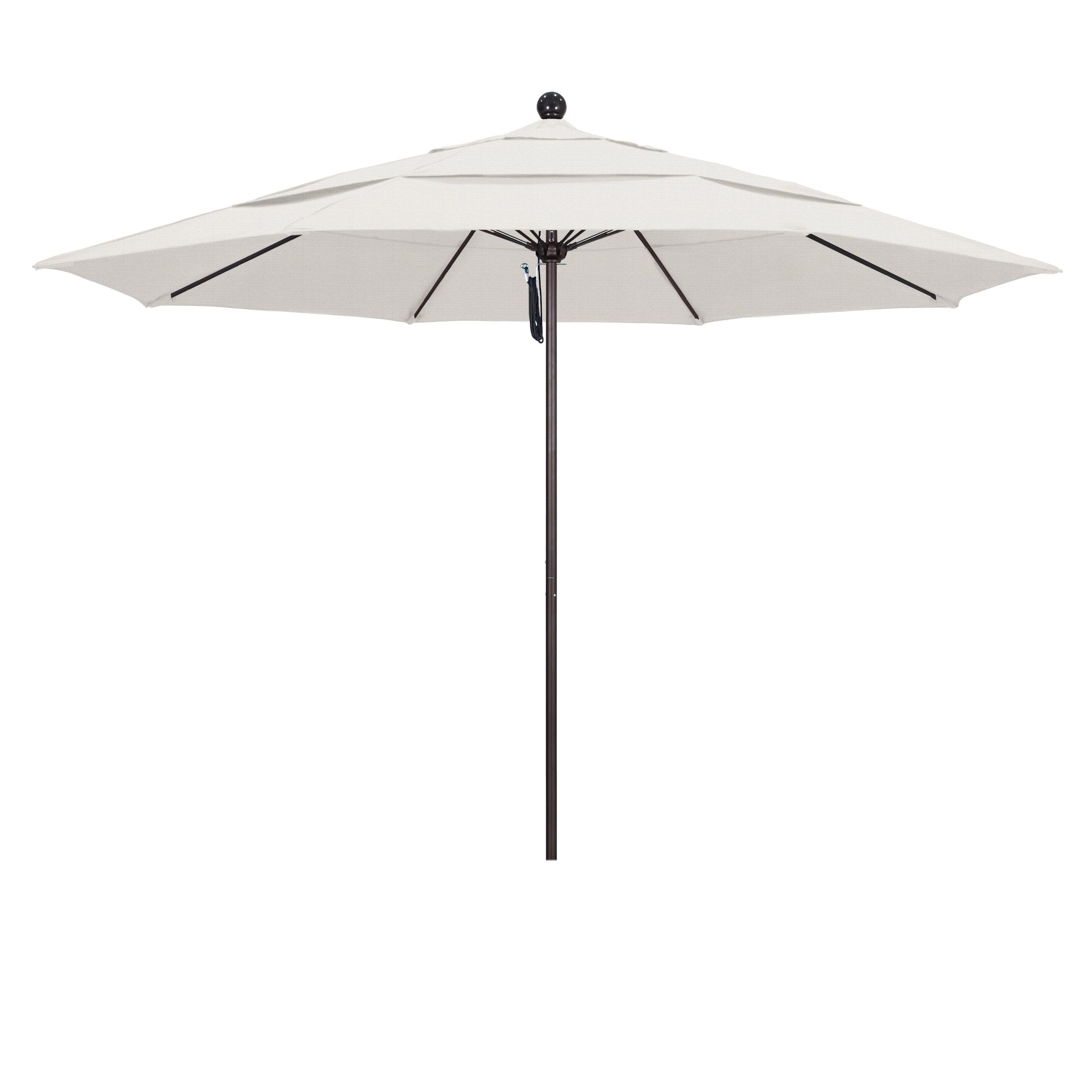 Winchester Zipcode Design Market Umbrellas Inside Most Recently Released Davenport 11' Market Umbrella (View 17 of 20)