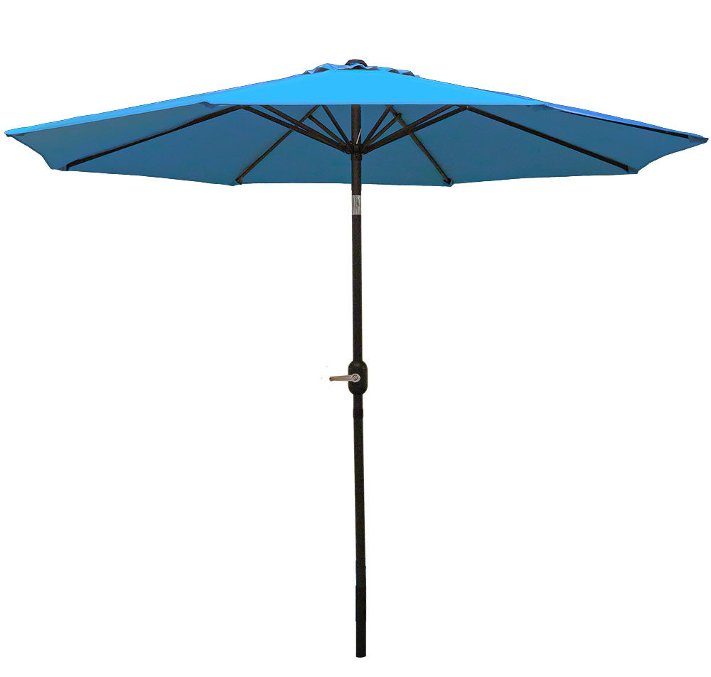 Winchester Zipcode Design Market Umbrellas With 2020 Delaplaine 9' Market Umbrella (View 12 of 20)